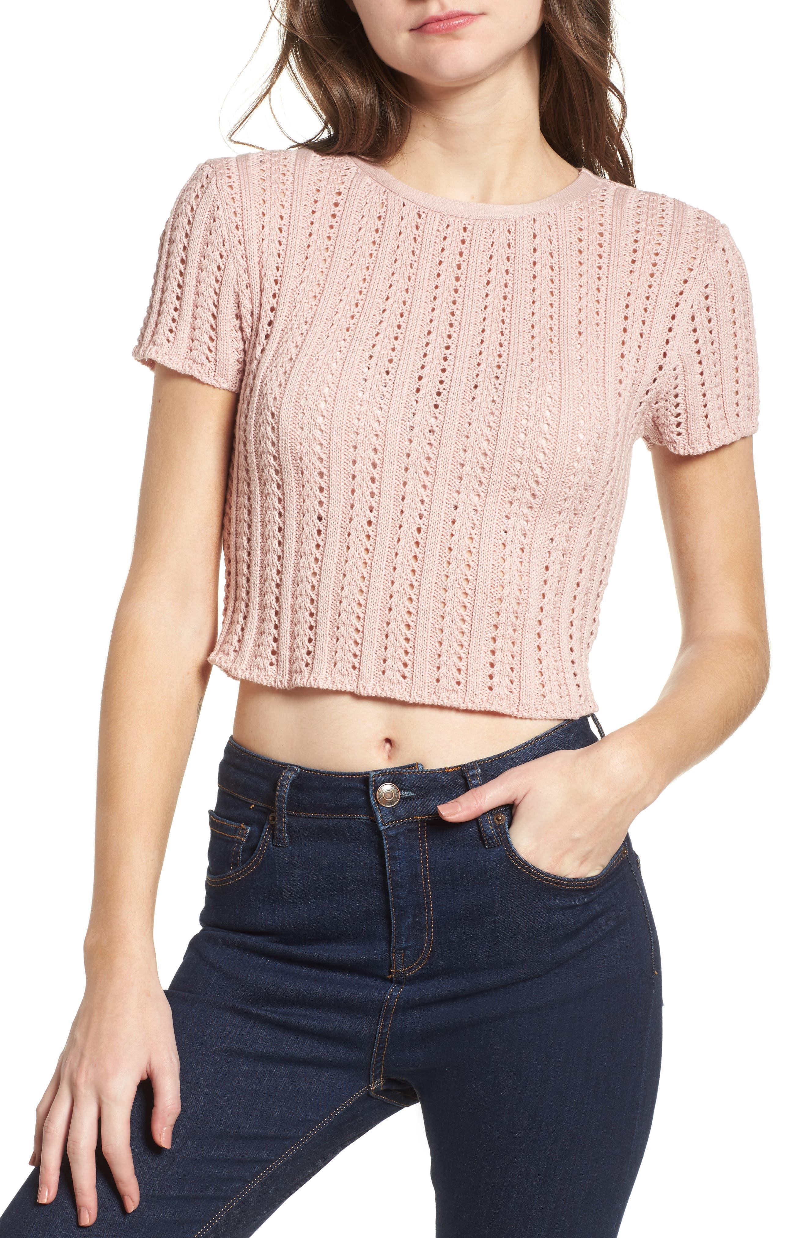 Main Image - Ten Sixty Sherman Crop Sweater