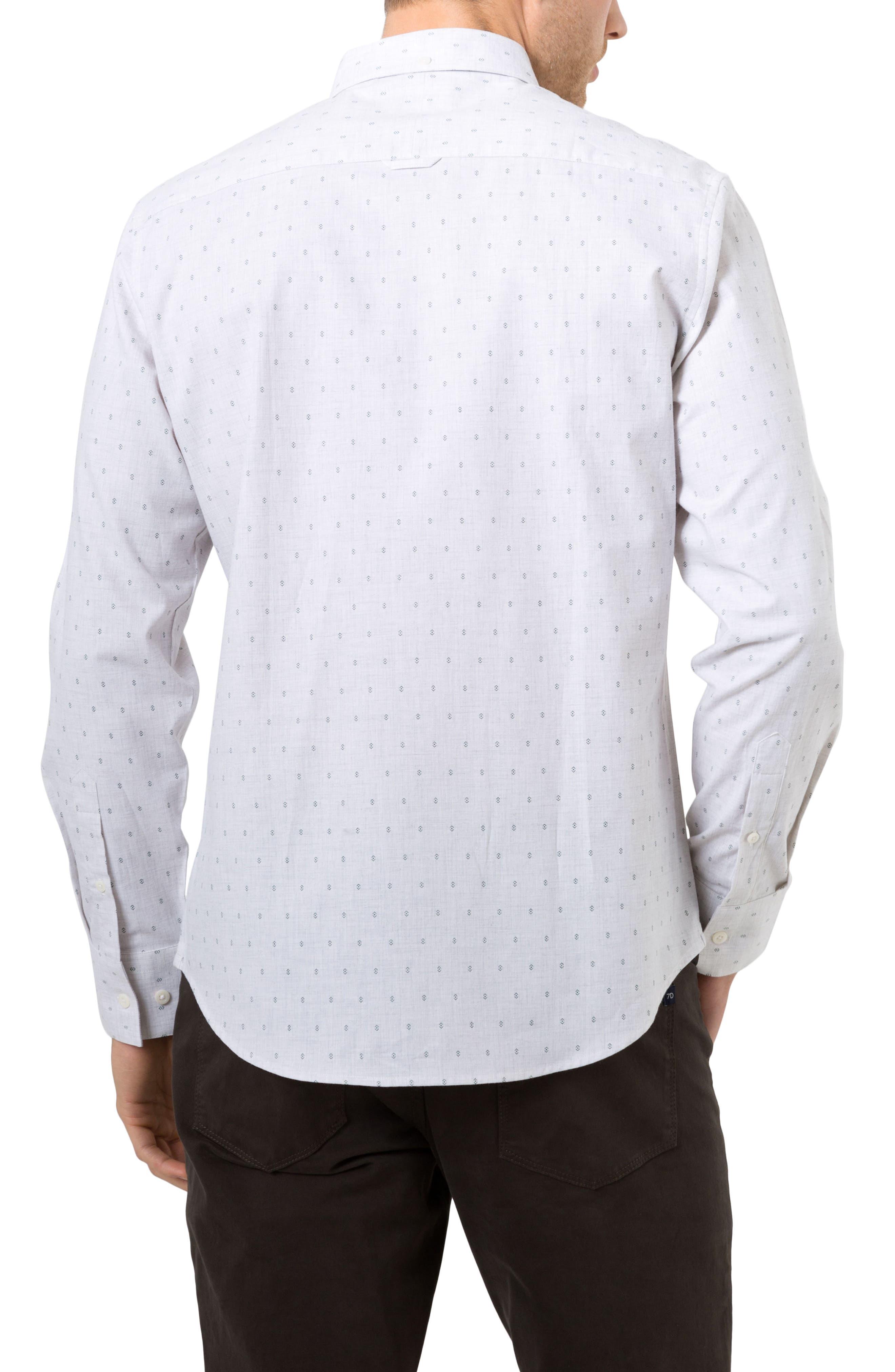 First Light Woven Shirt,                             Alternate thumbnail 2, color,                             Oat