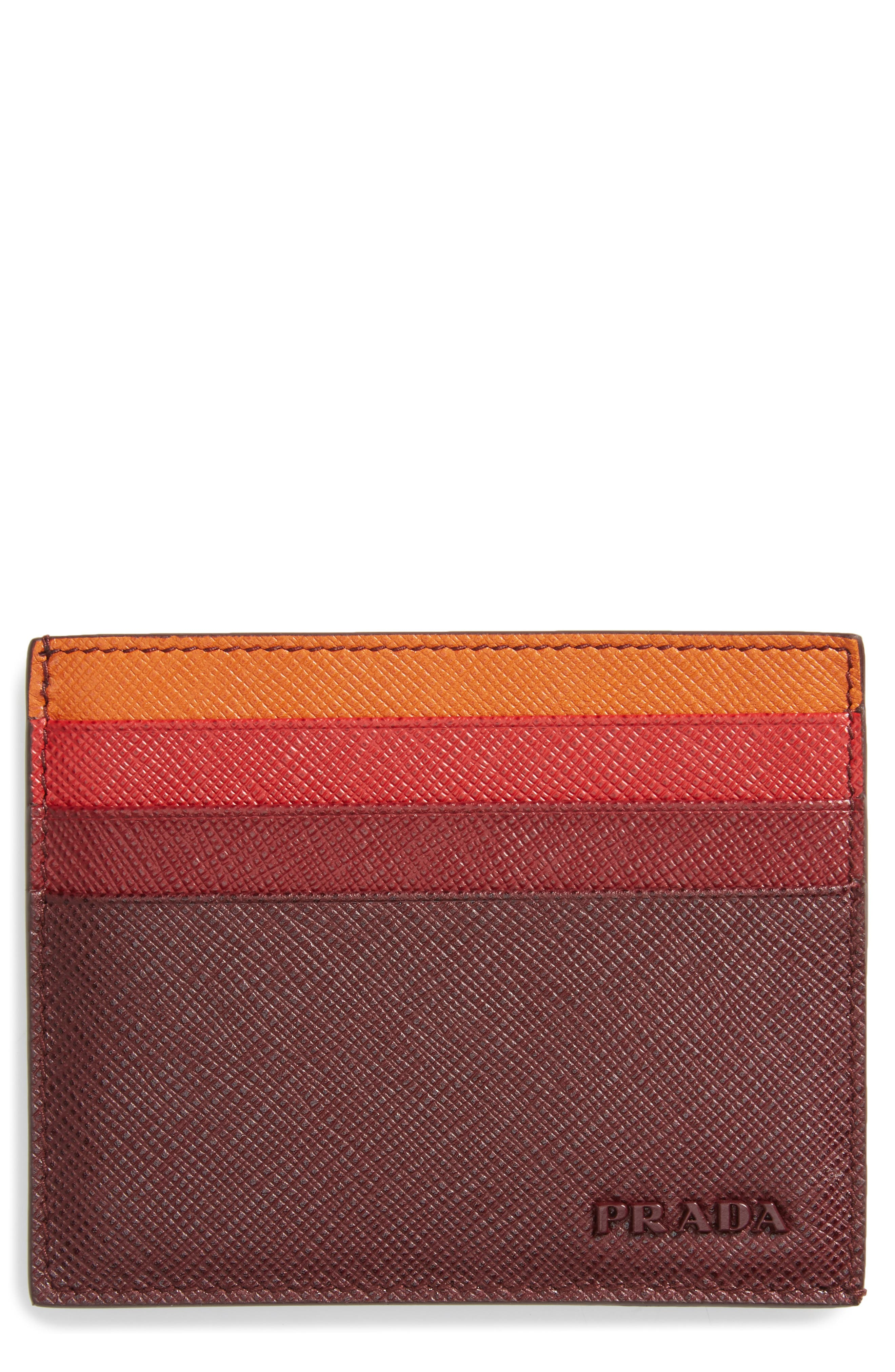 Prada Multicolor Saffiano Leather