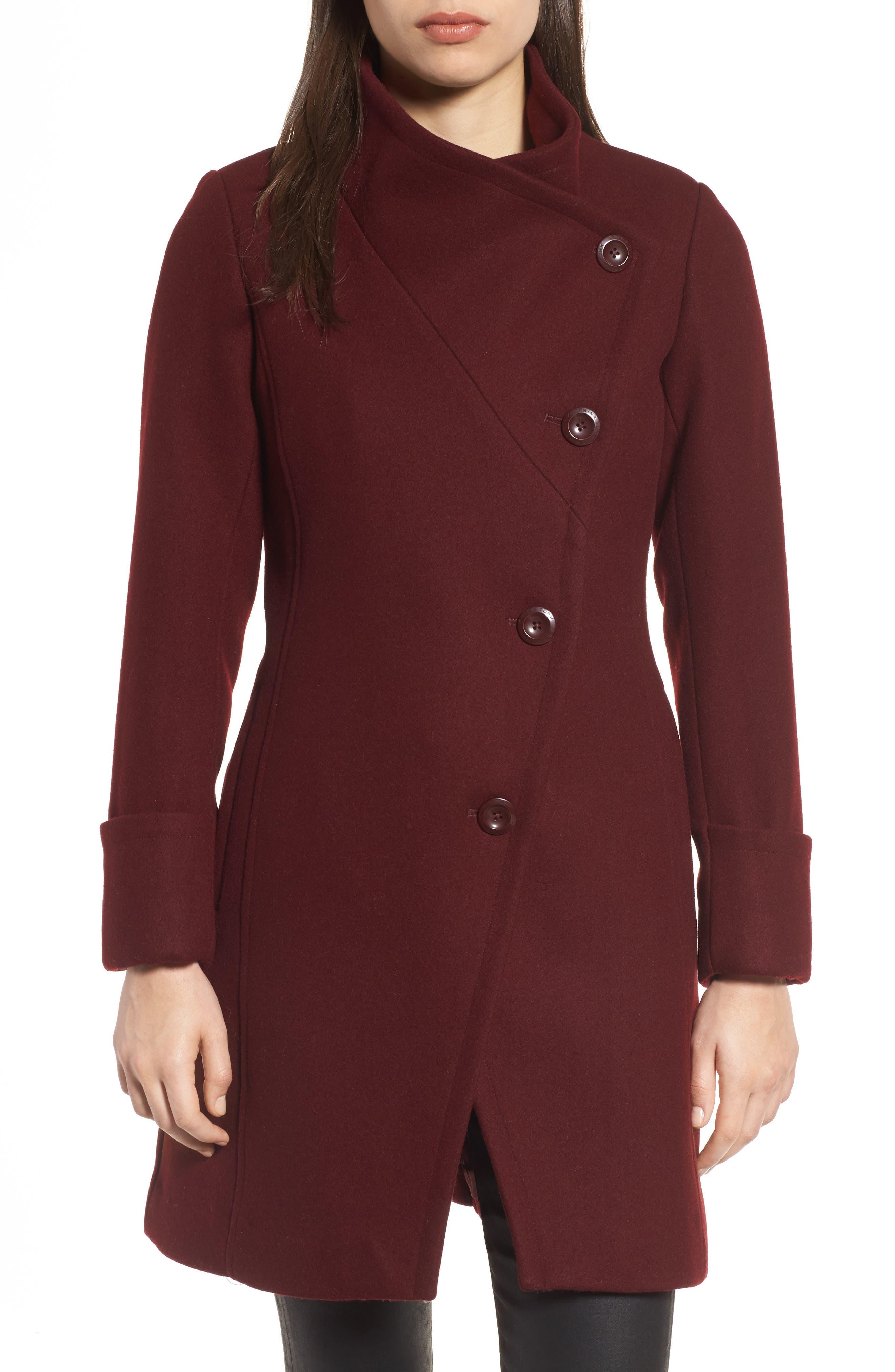 Trina Turk Fiona Double Breasted Coat