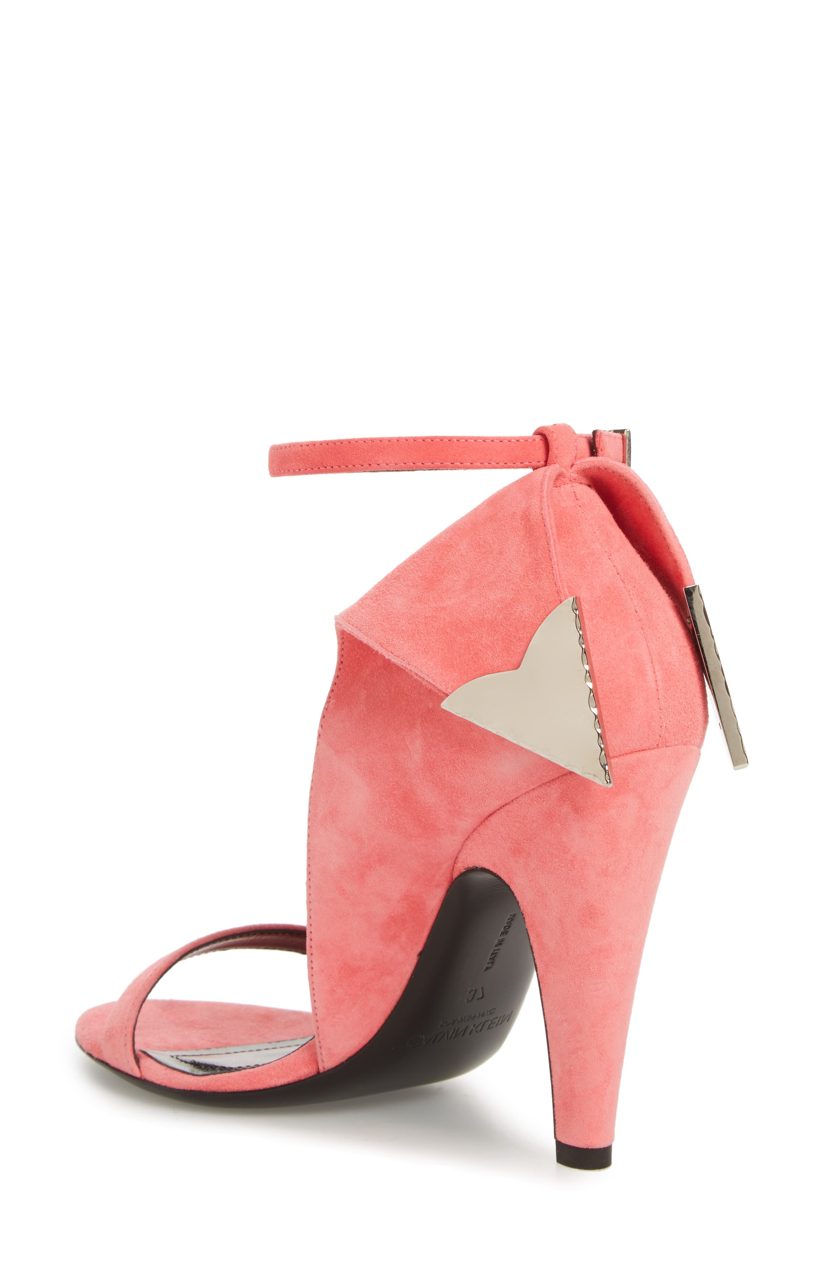 Leititia Ankle Strap Sandal,                             Alternate thumbnail 2, color,                             Blush