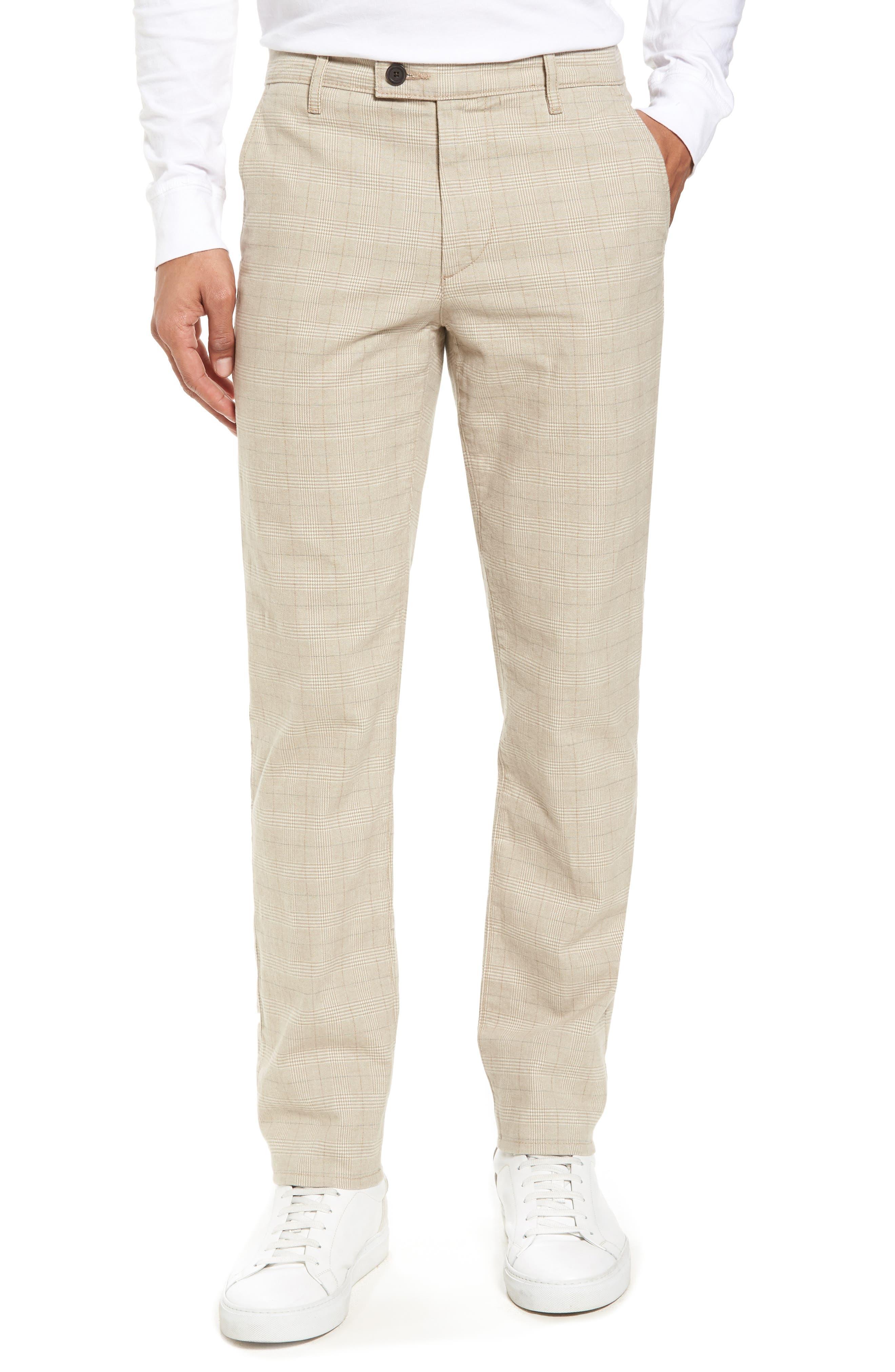Marshall Slim Fit Pants,                         Main,                         color, Silica Sand