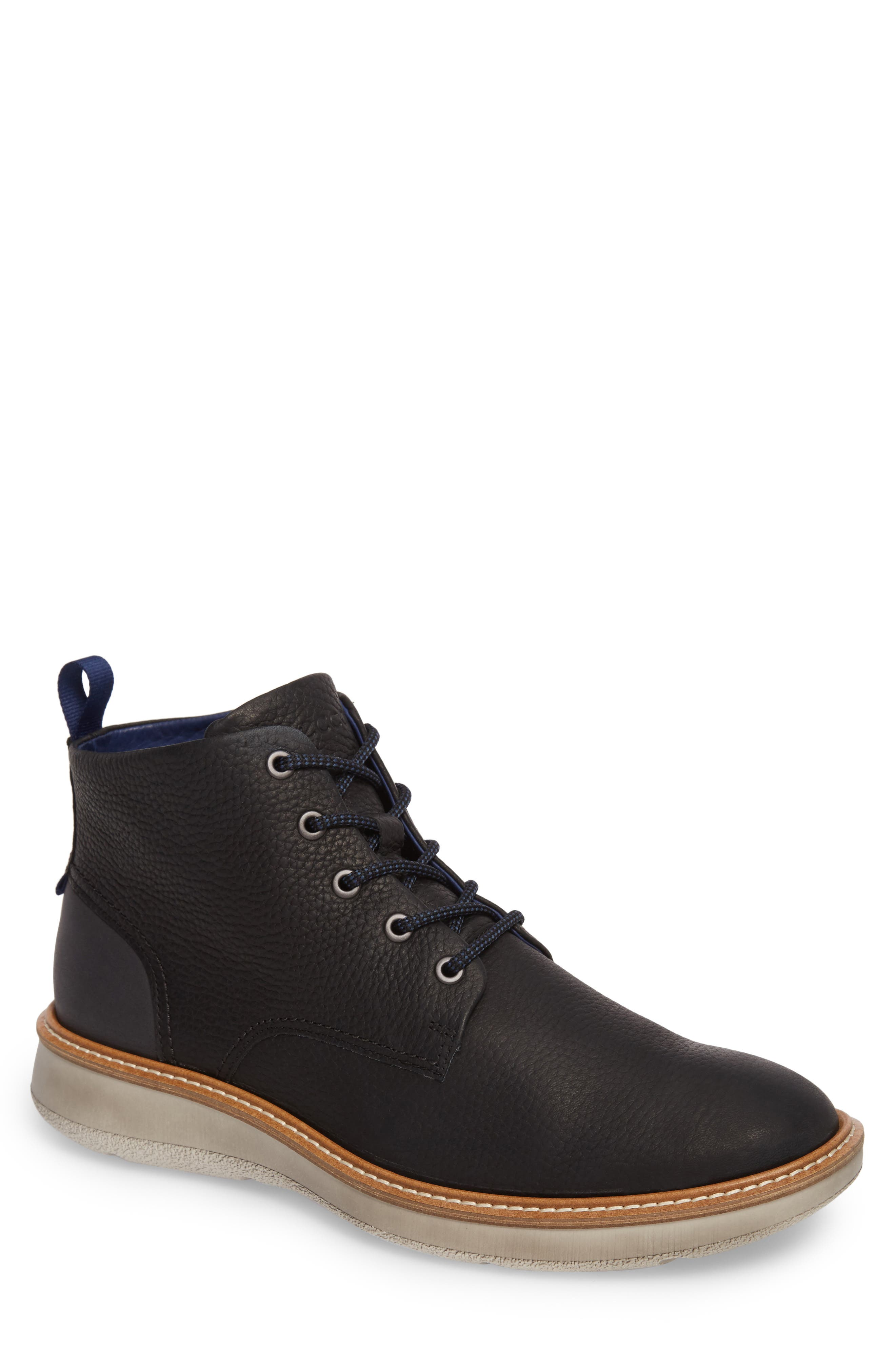 ECCO Aurora Plain Toe Boot (Men)