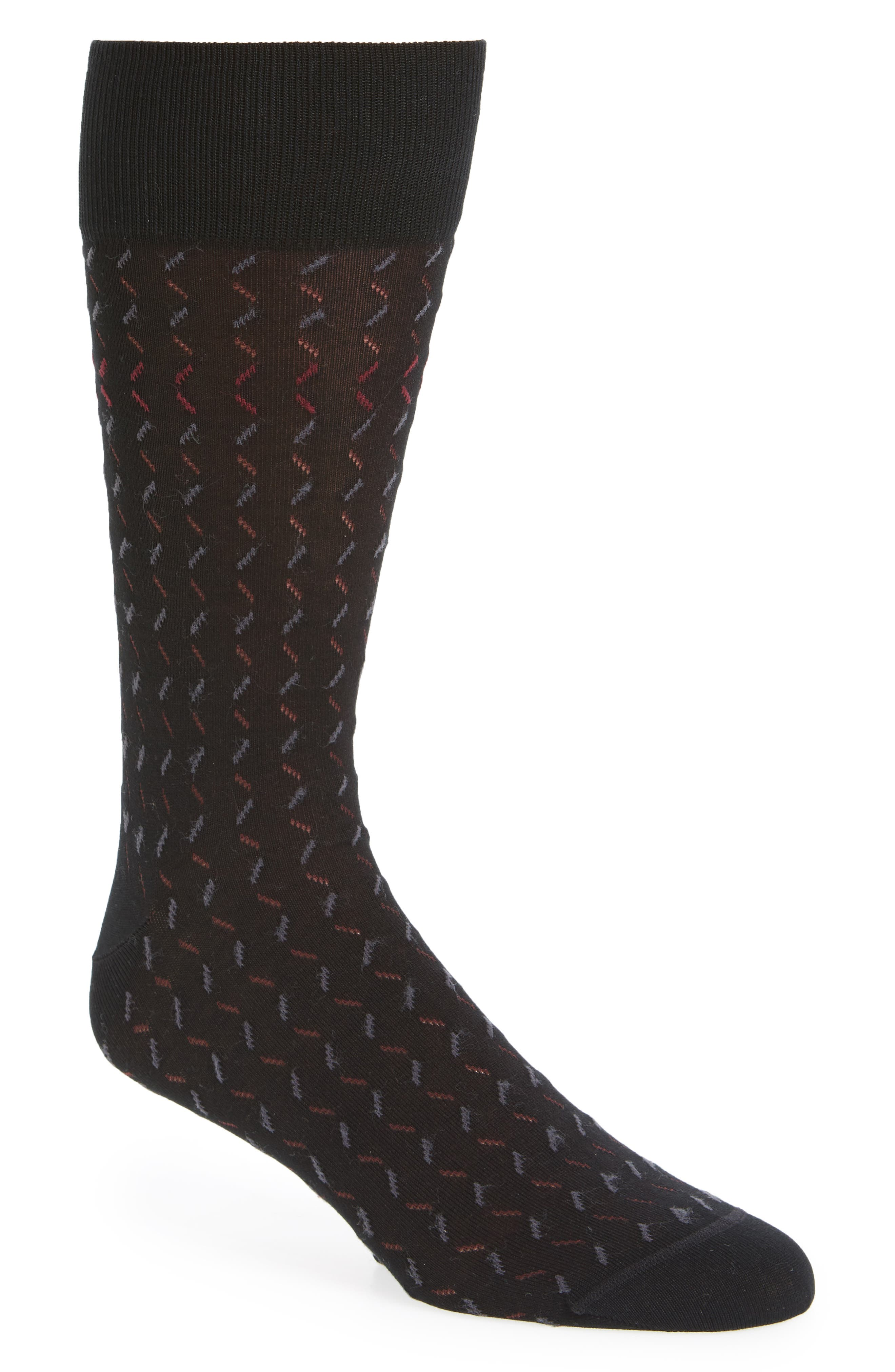 Dash Socks,                         Main,                         color, Black/ Burgundy