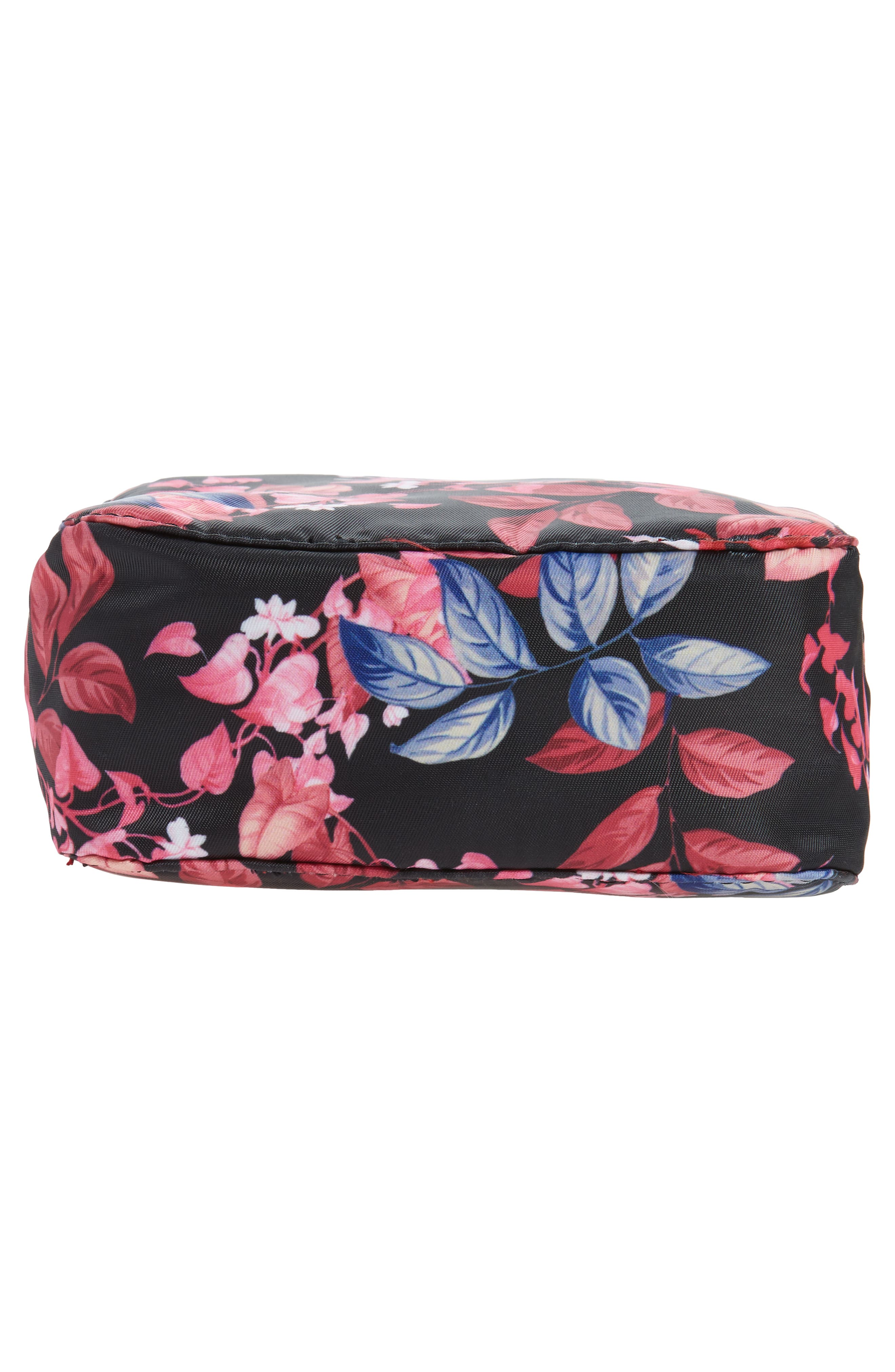 Up in the Air Cosmetics Case & Eye Mask,                             Alternate thumbnail 5, color,                             Fall Garden Part