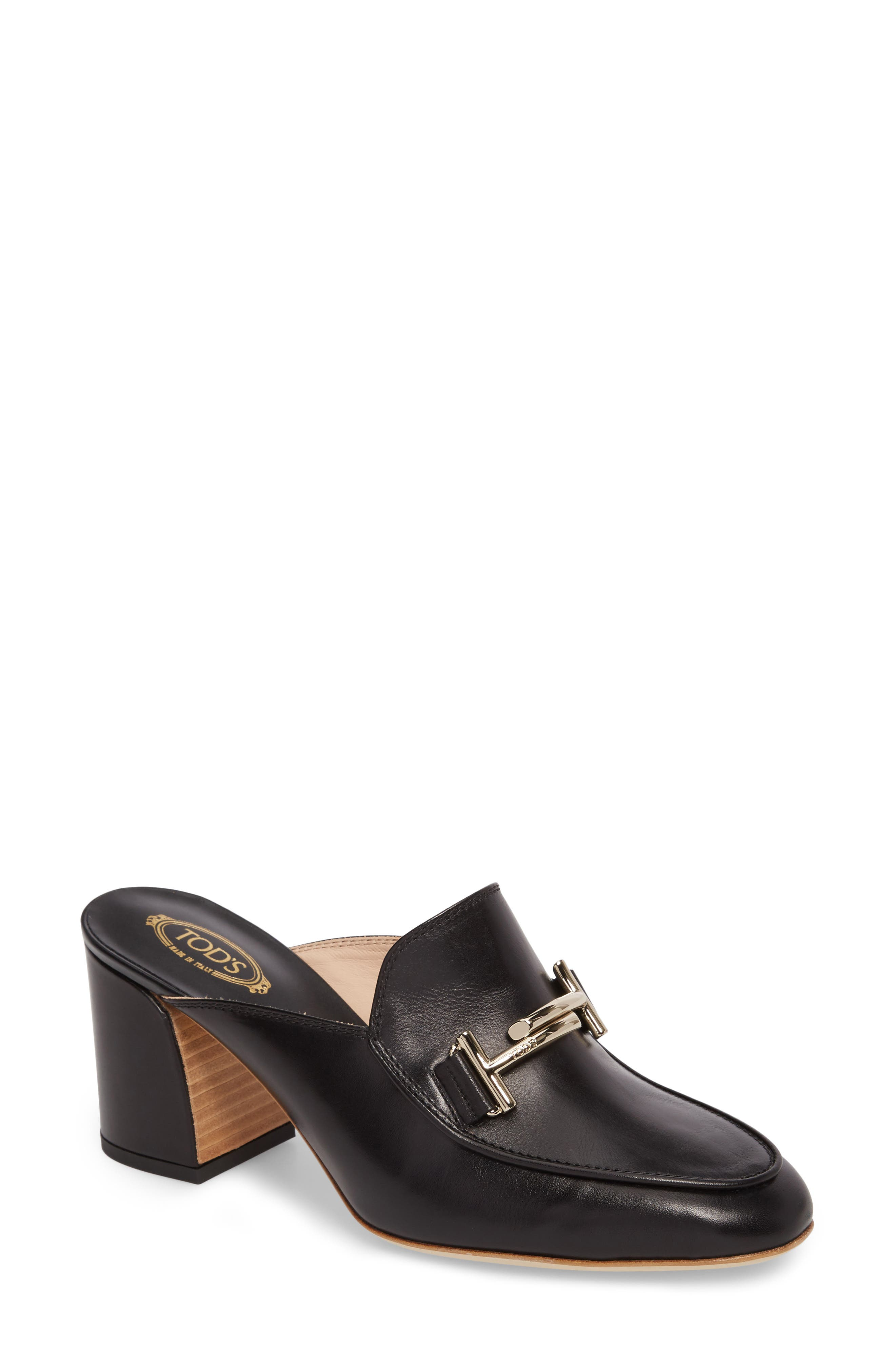 Alternate Image 1 Selected - Tod's Double T Mule (Women)