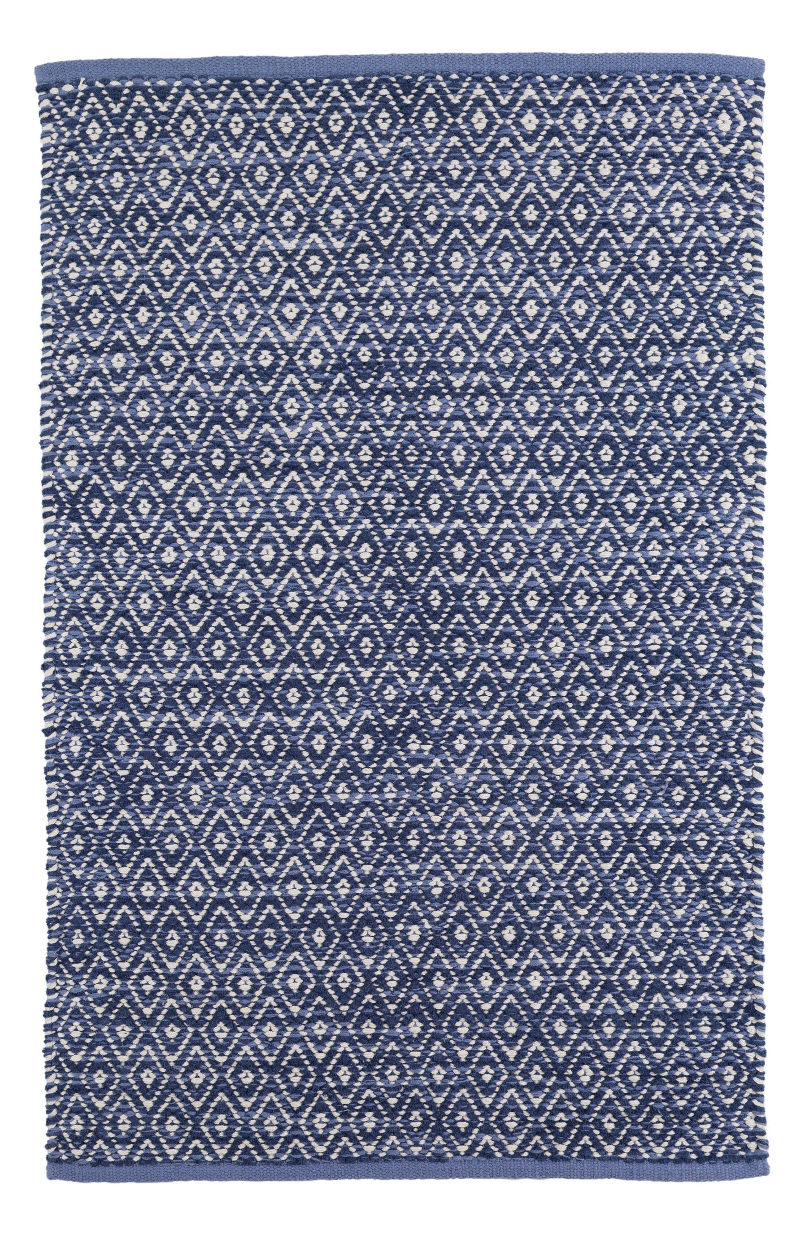 Main Image - Dash & Albert Diamond Chenille Woven Rug