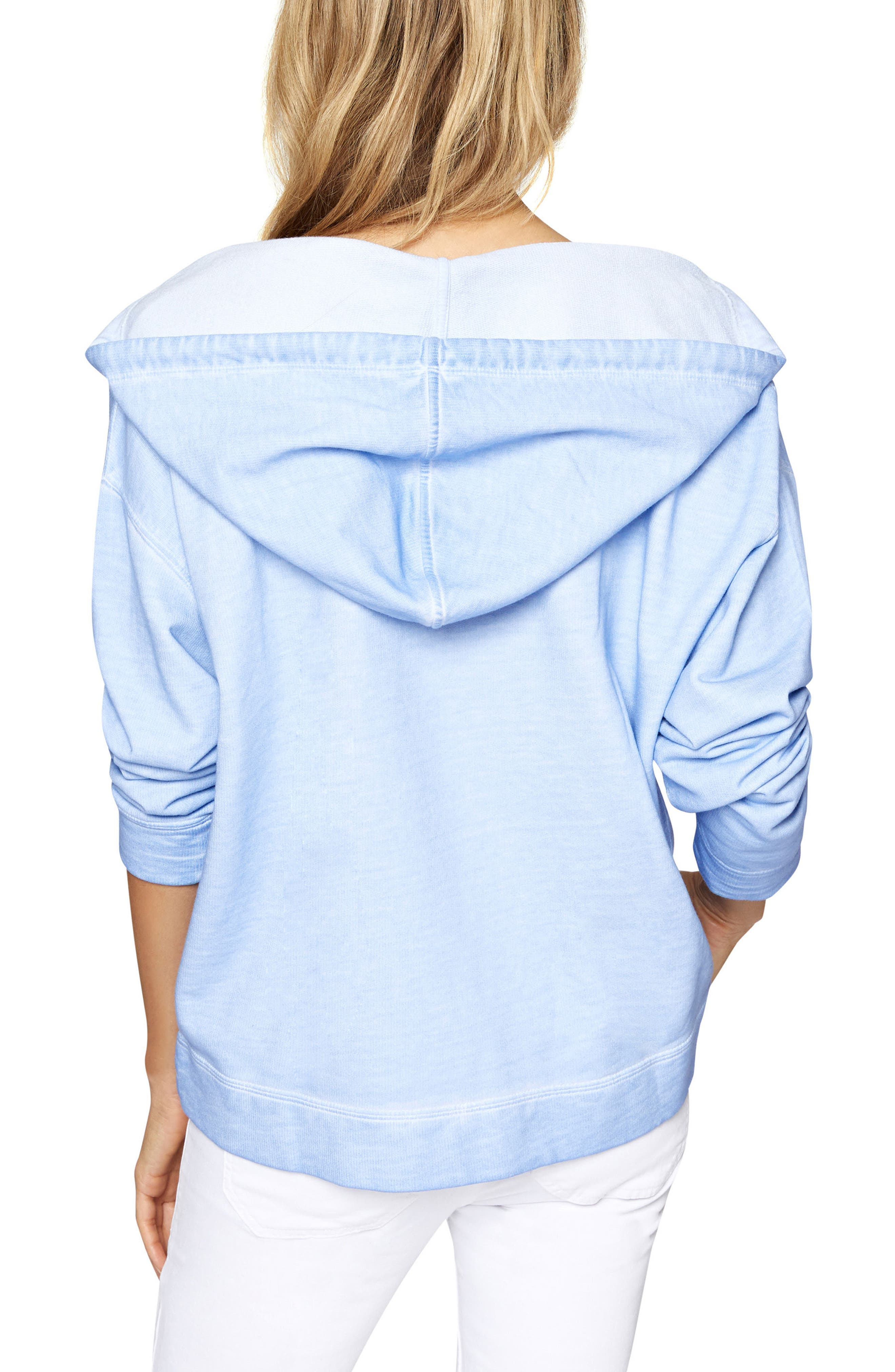 Shiloh Hoodie,                             Alternate thumbnail 2, color,                             Icy Blue