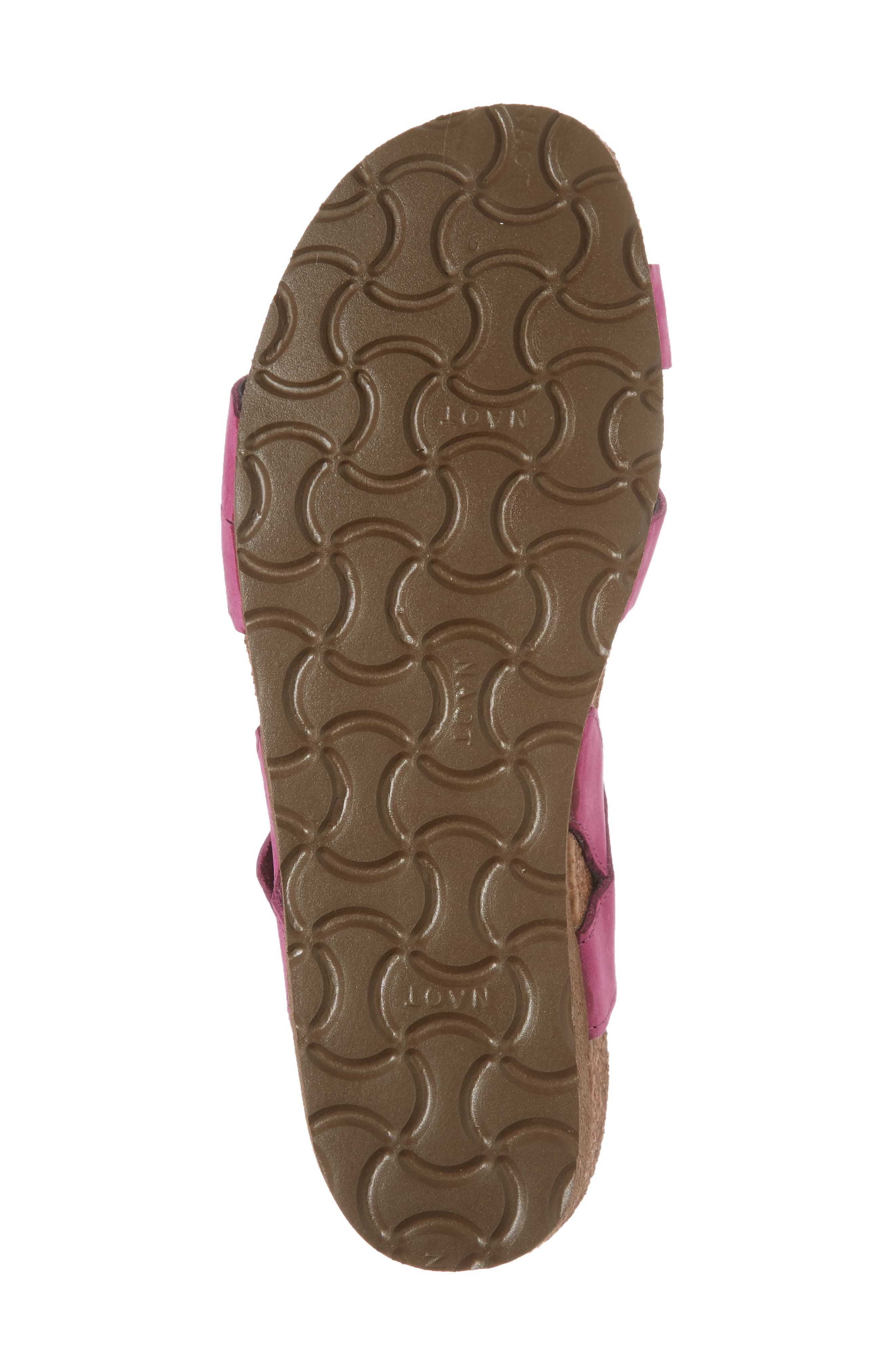 'Kayla' Sandal,                             Alternate thumbnail 6, color,                             Pink Plum Nubuck
