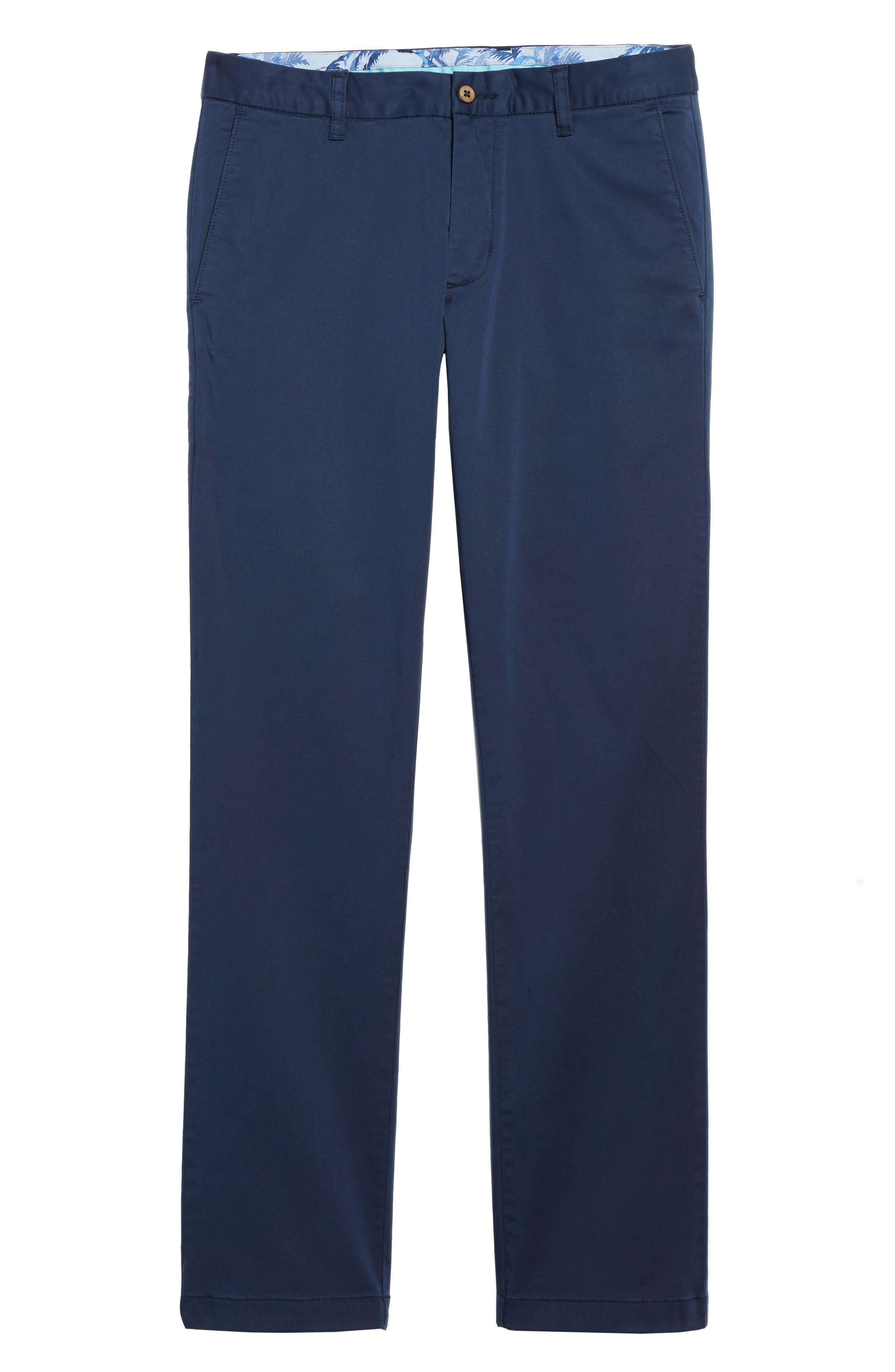 Boracay Flat Front Pants,                             Alternate thumbnail 6, color,                             Maritime