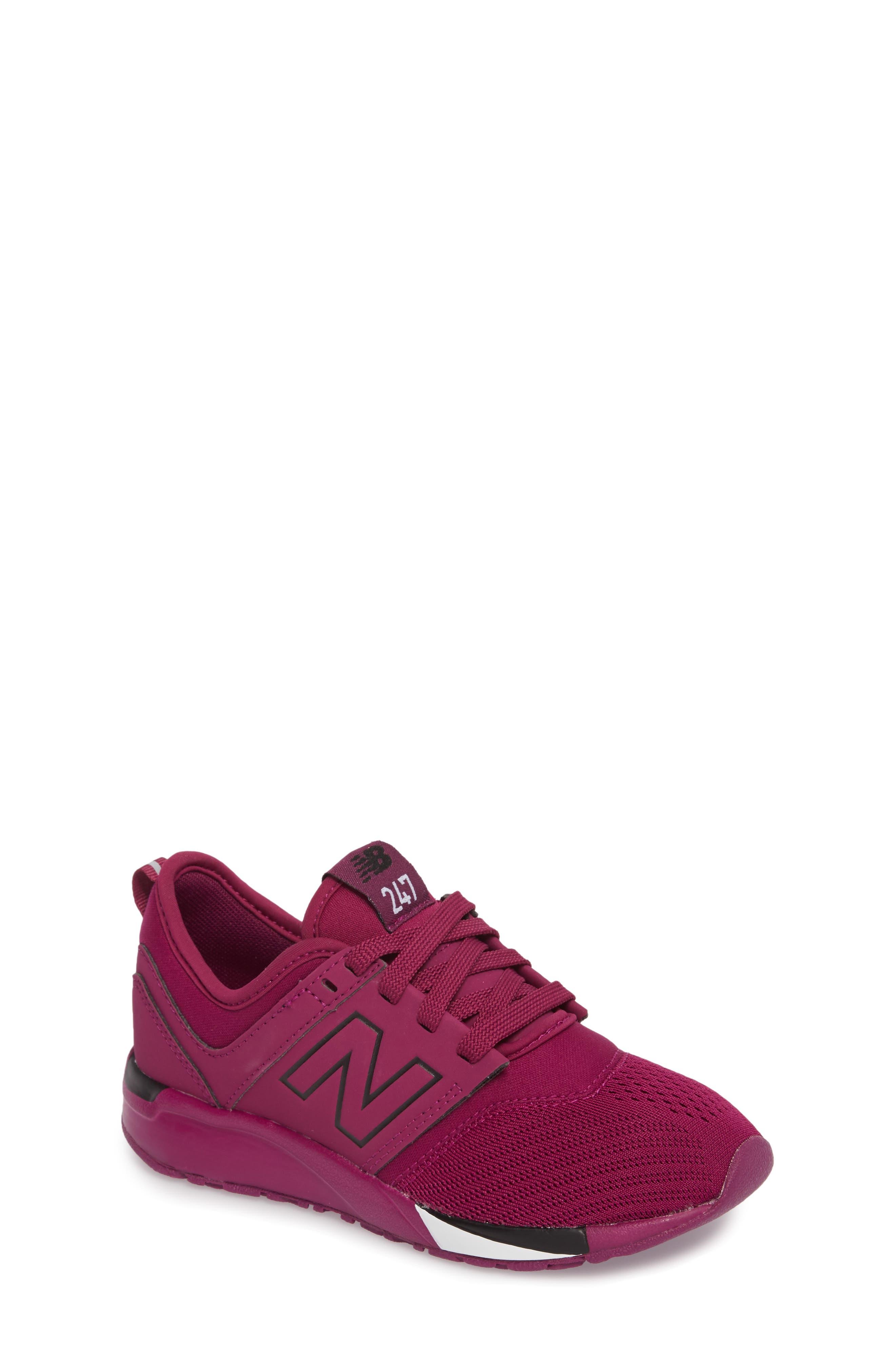 247 Sport Sneaker,                             Main thumbnail 1, color,                             Red/ Black