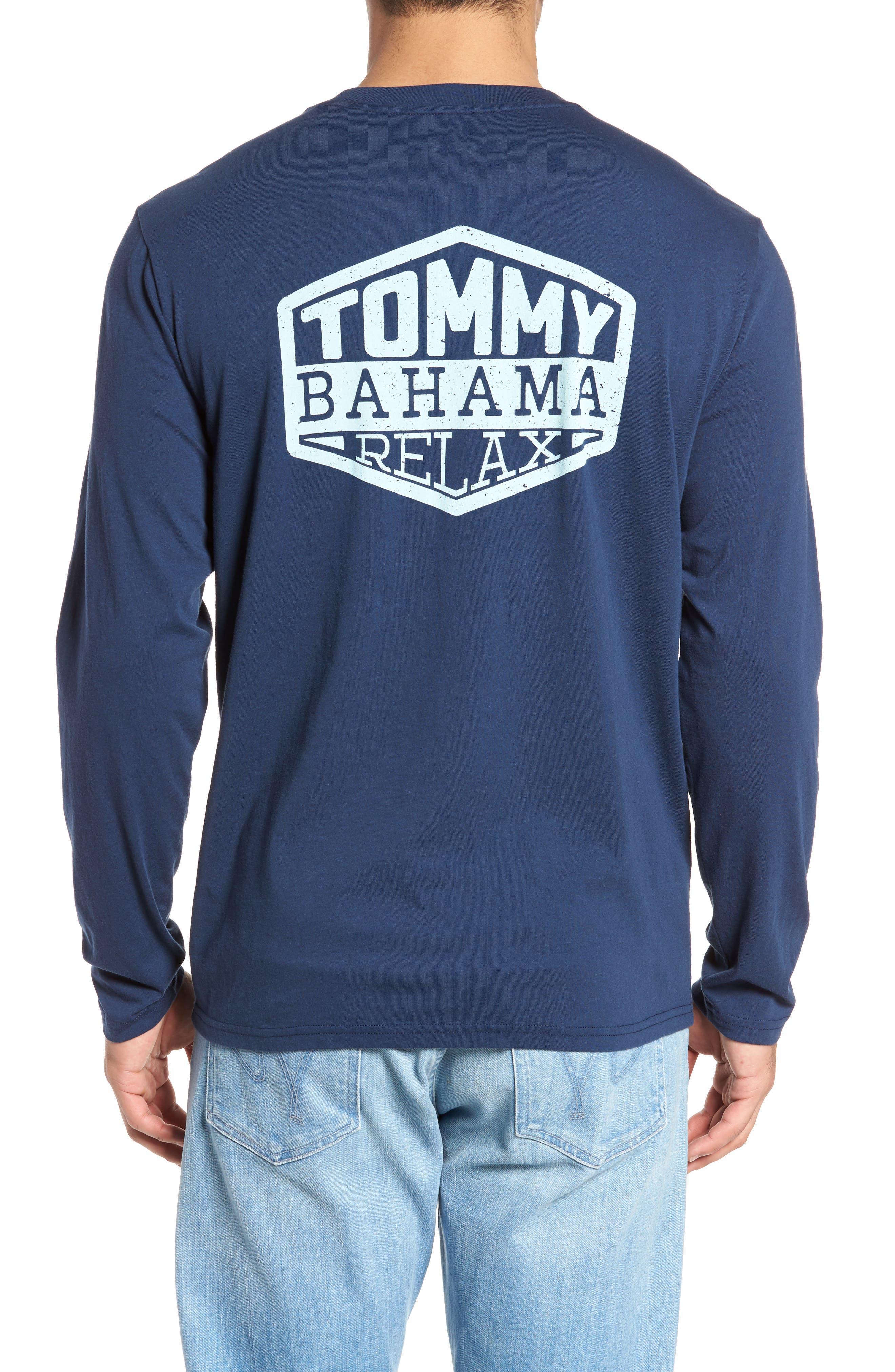 Diamond Isle Graphic T-Shirt,                             Main thumbnail 1, color,                             Navy