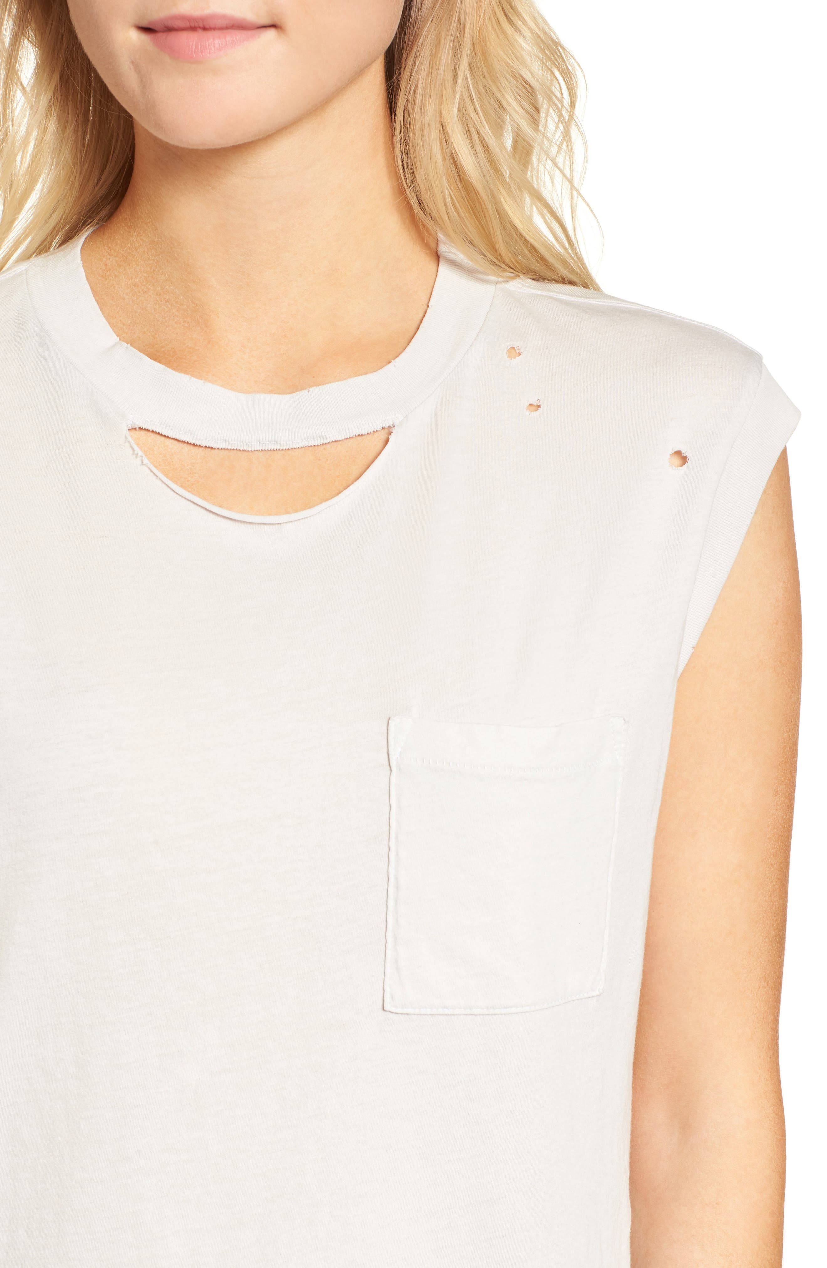 Serge Deconstructed Pocket Tank,                             Alternate thumbnail 4, color,                             Silver Birch