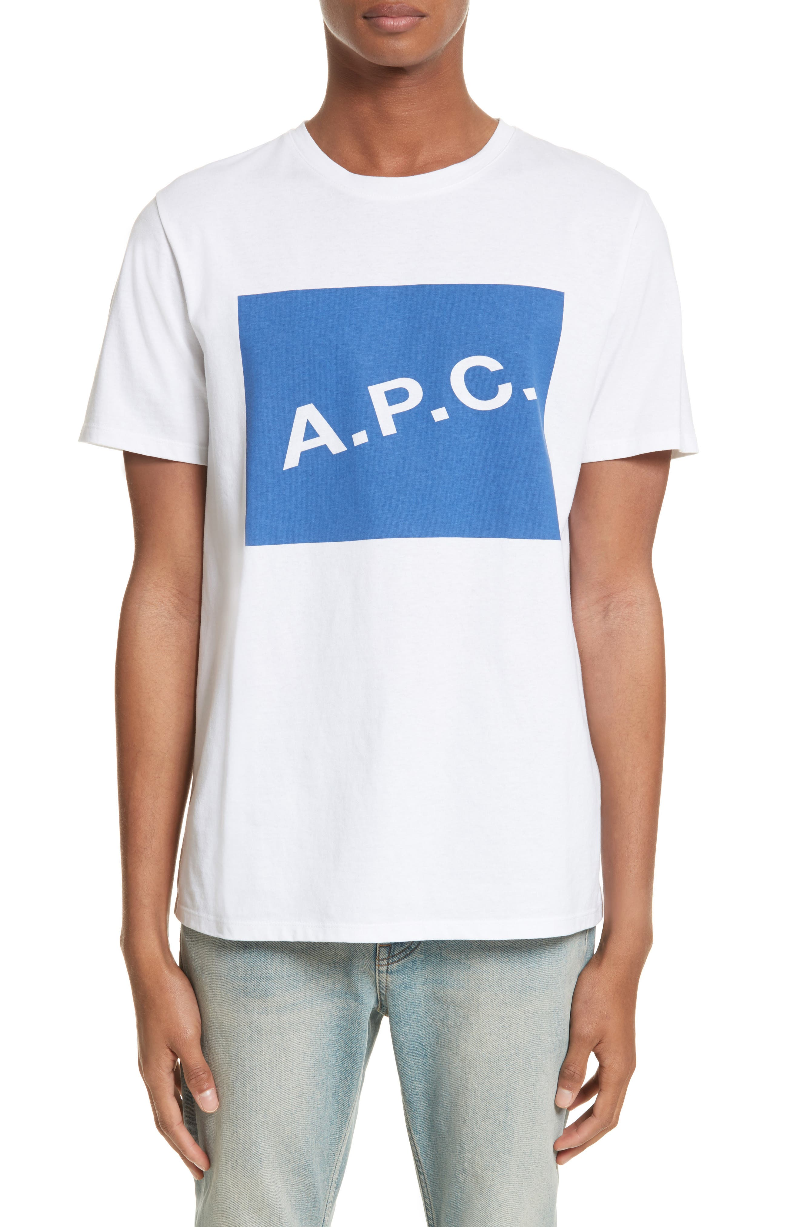 Alternate Image 1 Selected - A.P.C. Kraft Graphic T-Shirt
