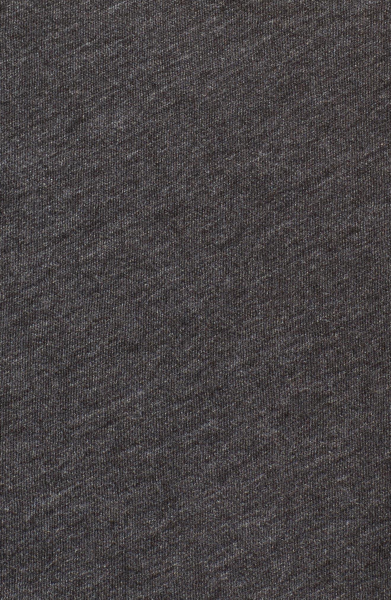 Yas Middie Tee,                             Alternate thumbnail 5, color,                             Clean Black