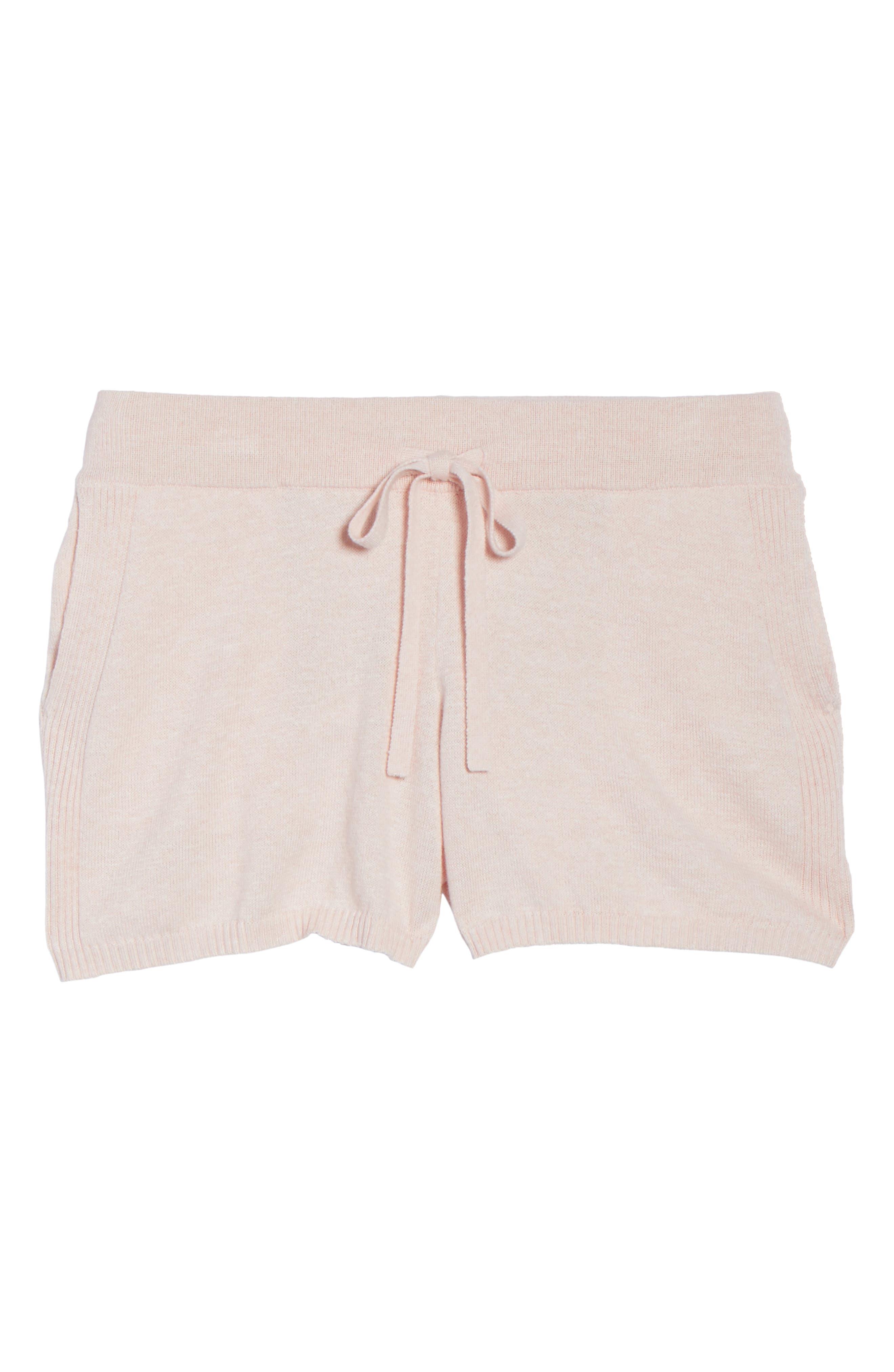 Vic Lounge Shorts,                             Alternate thumbnail 4, color,                             Soft Pink