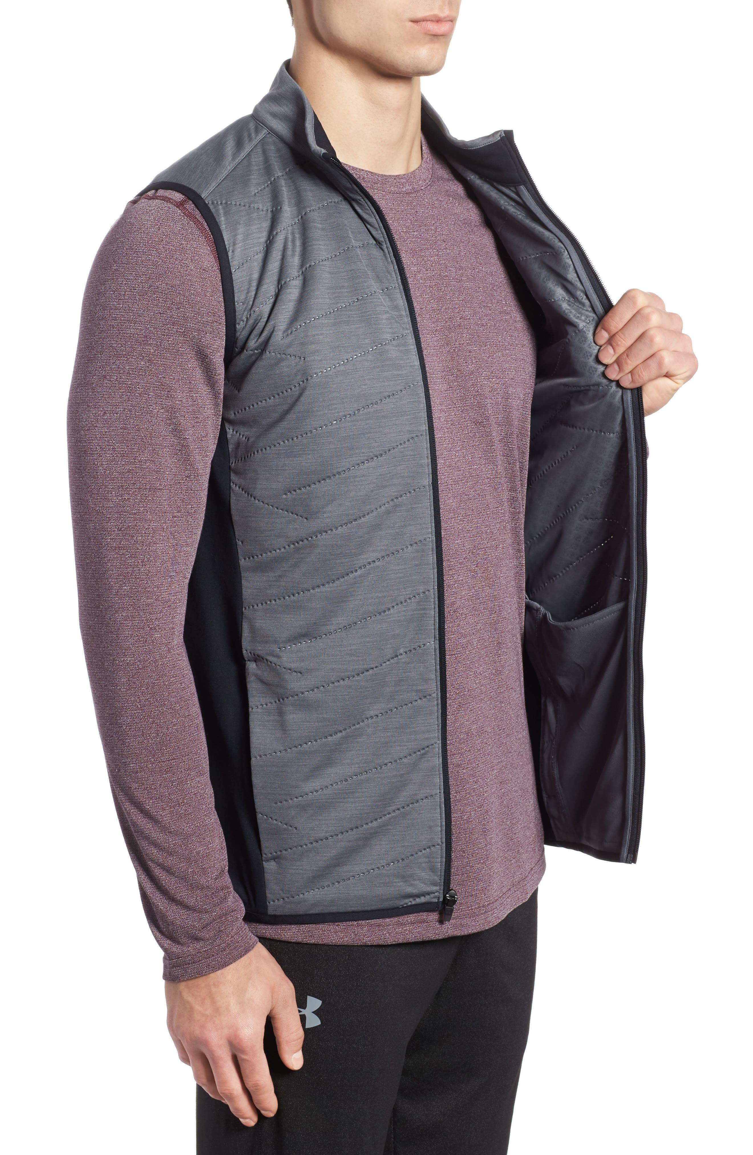Reactor Hybrid Zip Vest,                             Alternate thumbnail 3, color,                             Rhino Grey / Black / Grey