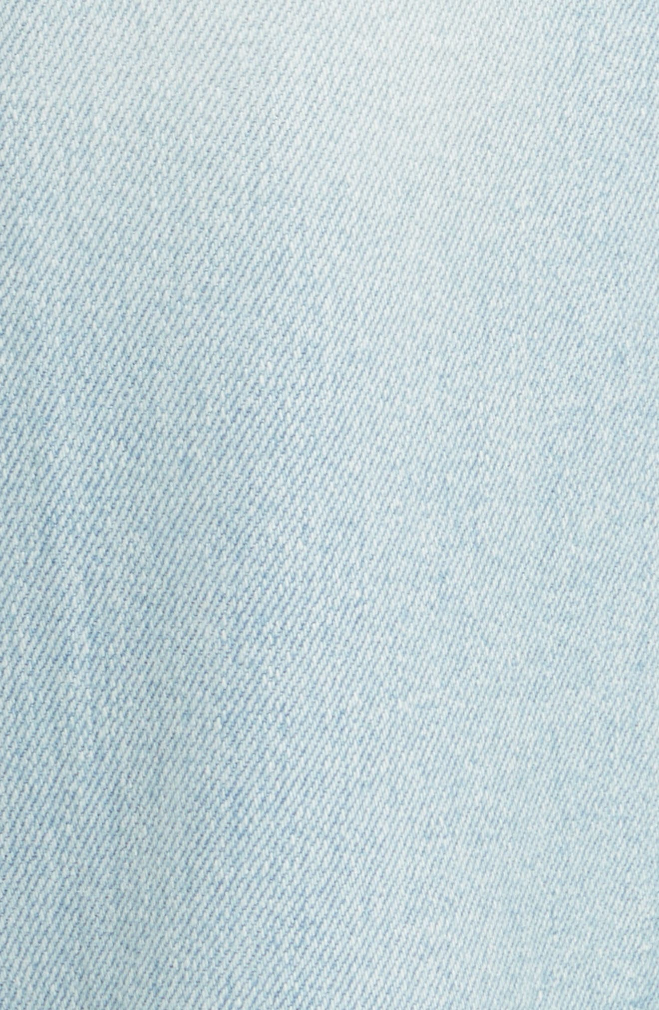 Le Crop Mini Boot Jeans,                             Alternate thumbnail 5, color,                             Adeline