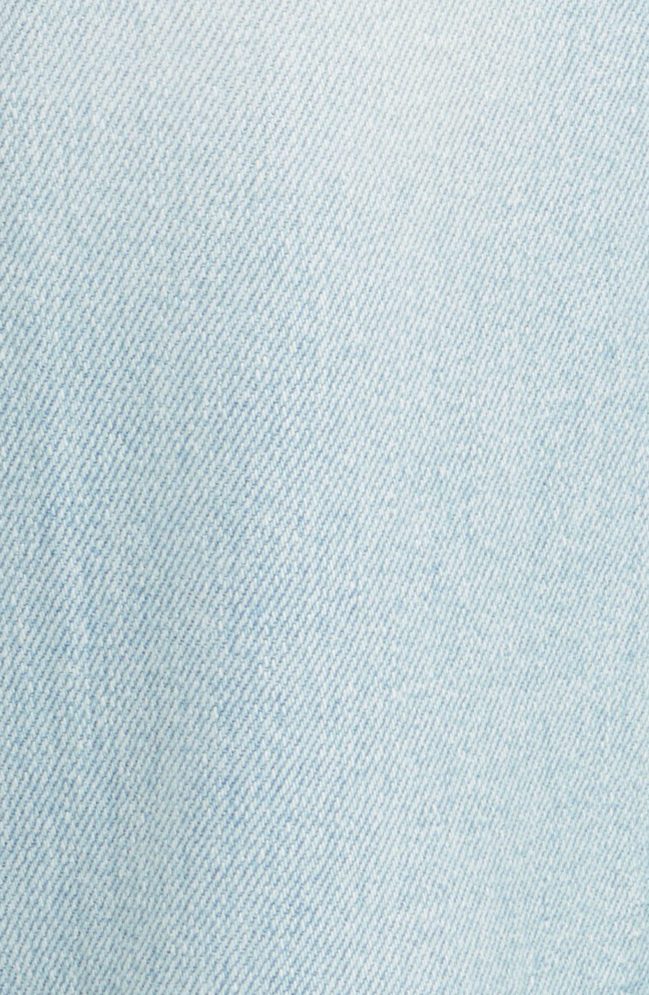Alternate Image 5  - FRAME Le Crop Mini Boot Jeans (Adeline)