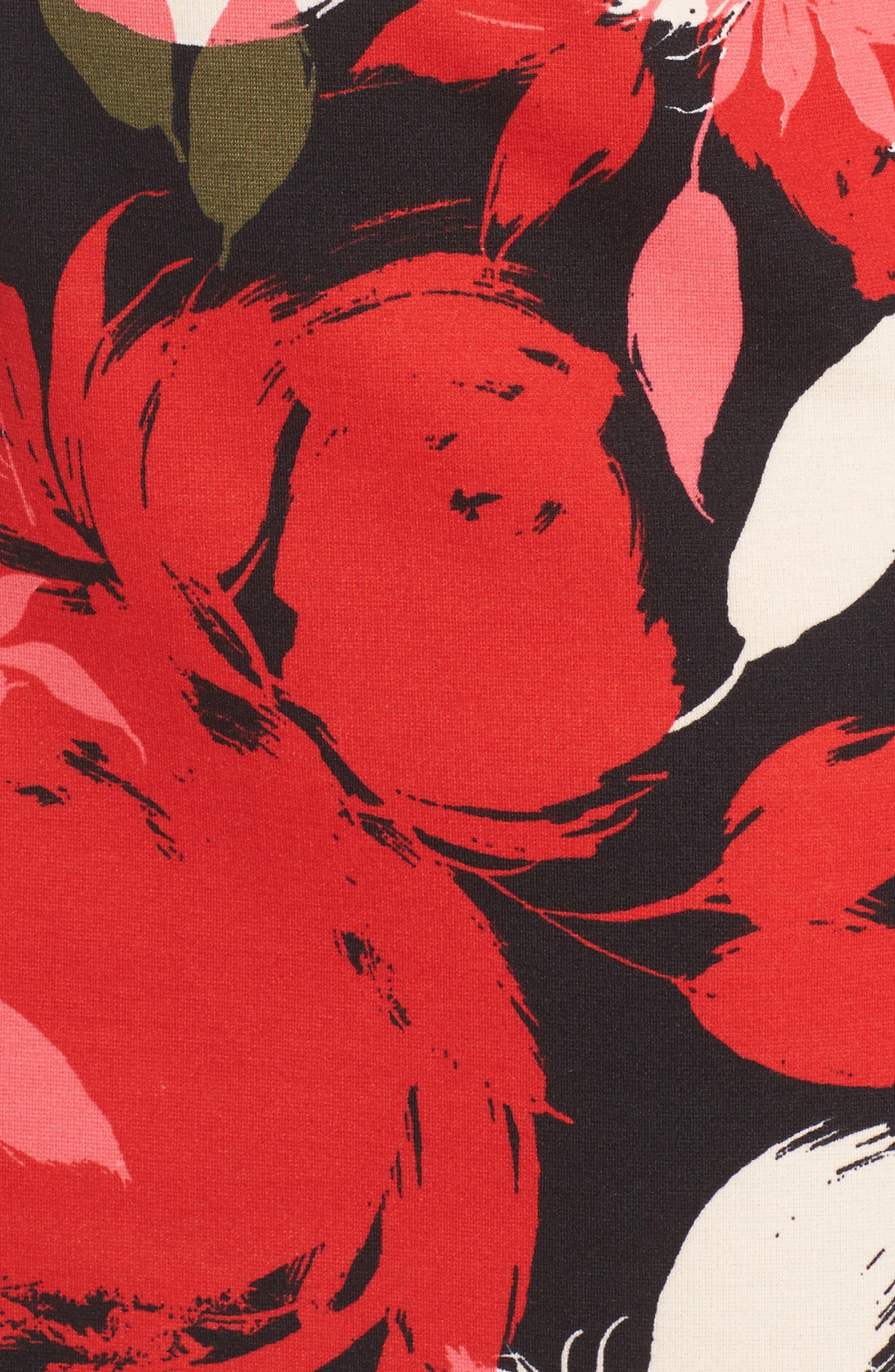 Sena A-Line Dress,                             Alternate thumbnail 5, color,                             Multi