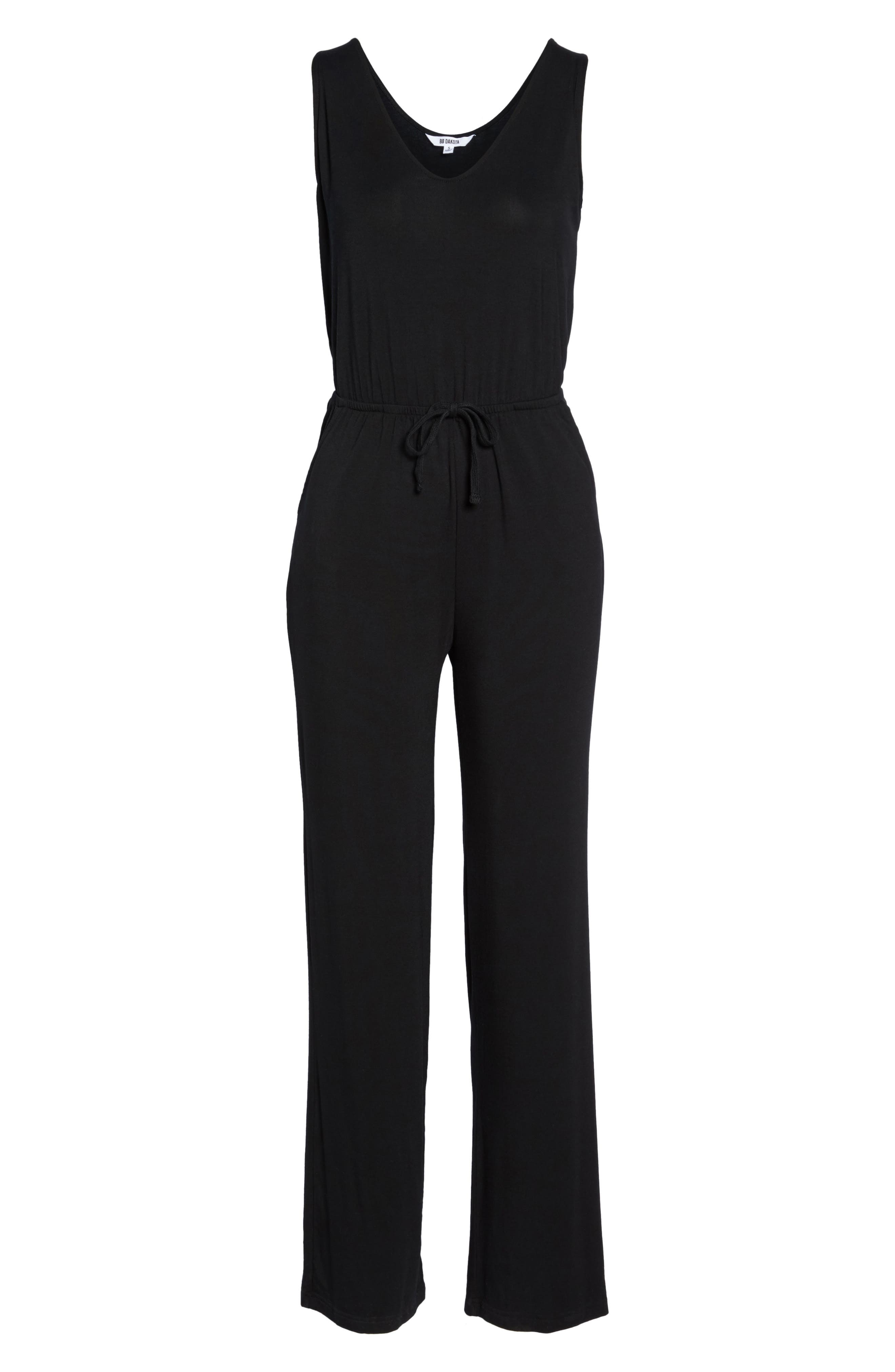 Alternate Image 4  - BB Dakota Catalina Knit Lounge Jumpsuit