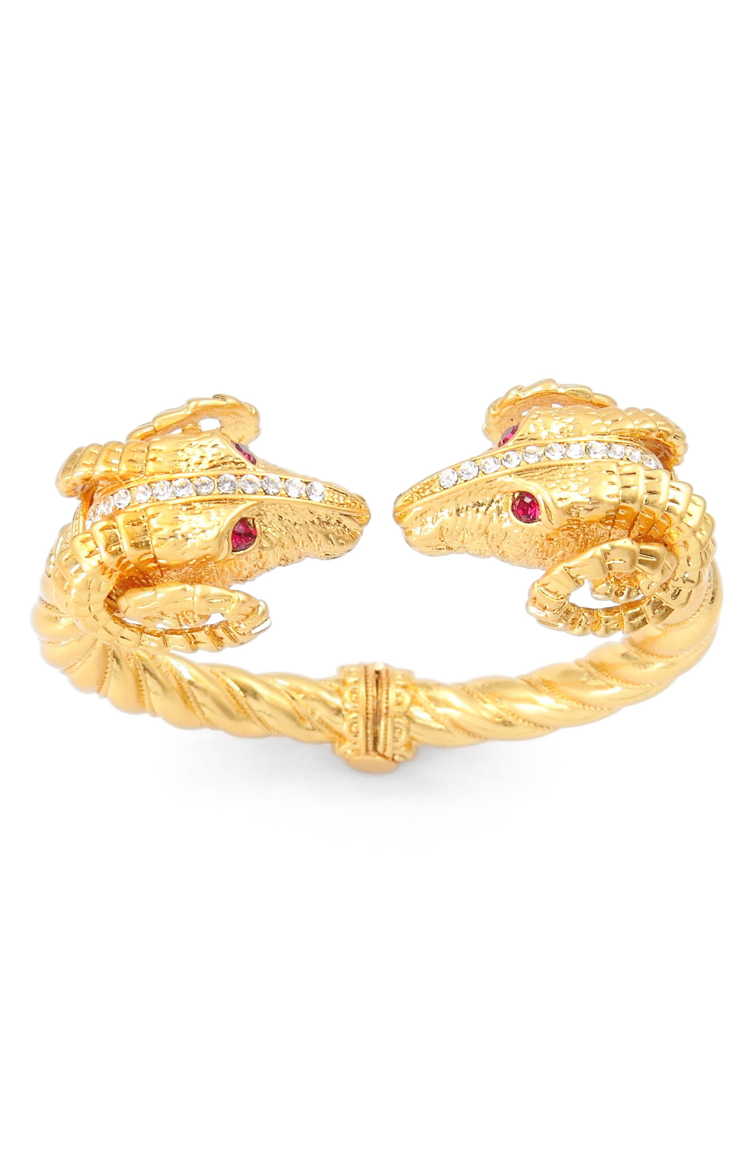 Asa Kaftans Ram Head Cuff Bracelet