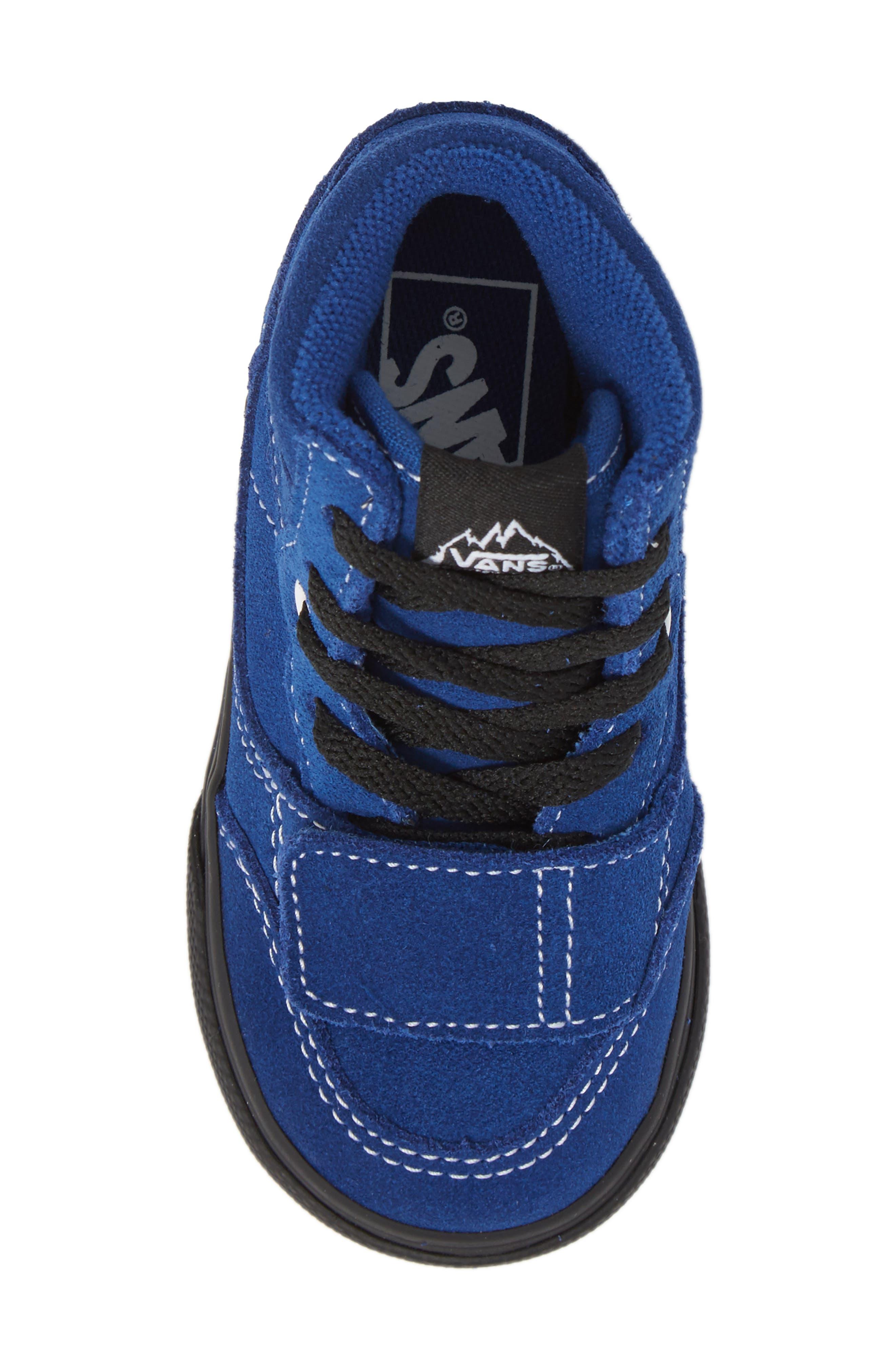 Mountain Edition Mid Top Sneaker,                             Alternate thumbnail 5, color,                             Blue/ Black