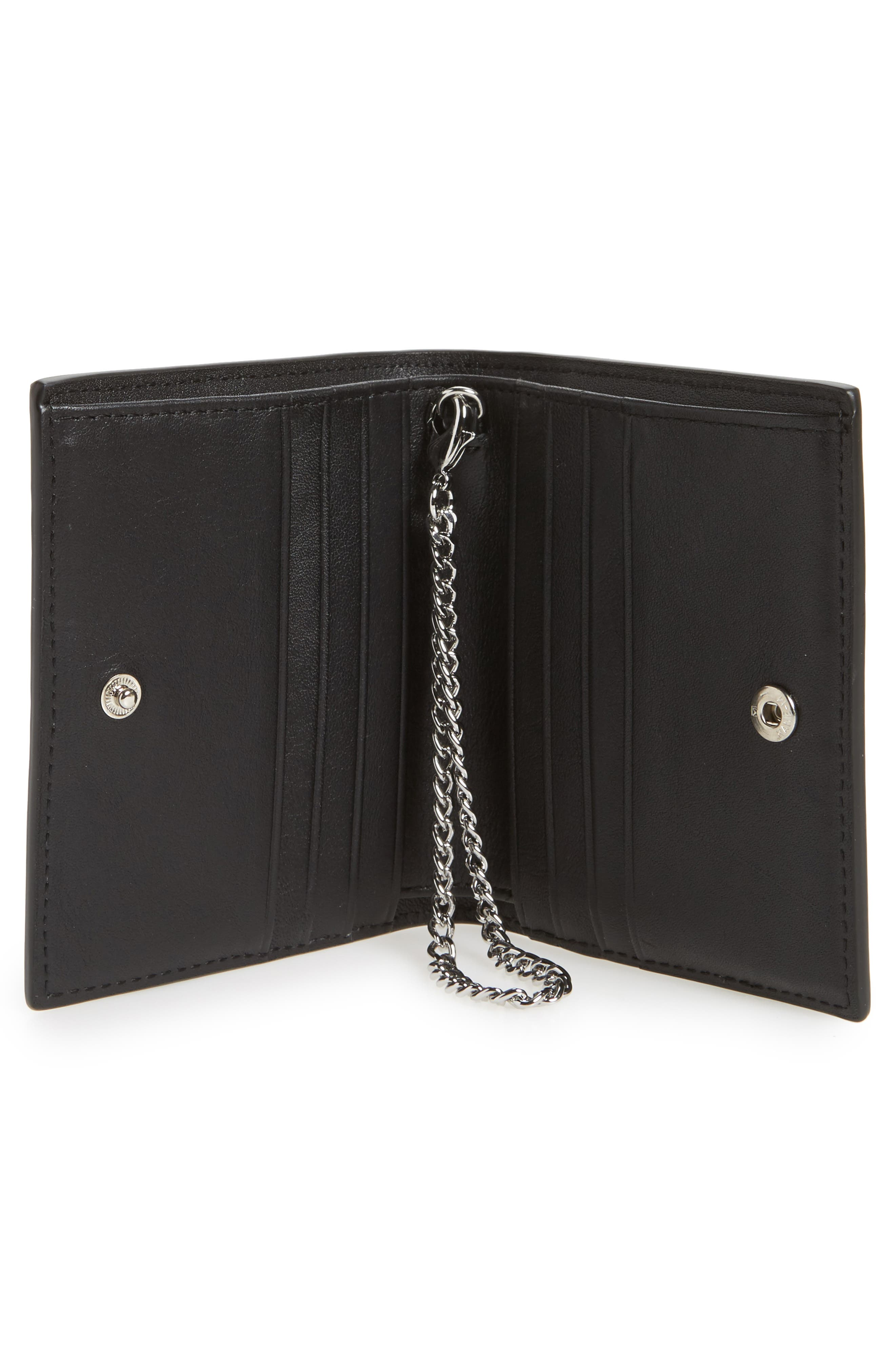 Alternate Image 2  - ALLSAINTS Small Keel Croc Embossed Leather Wallet