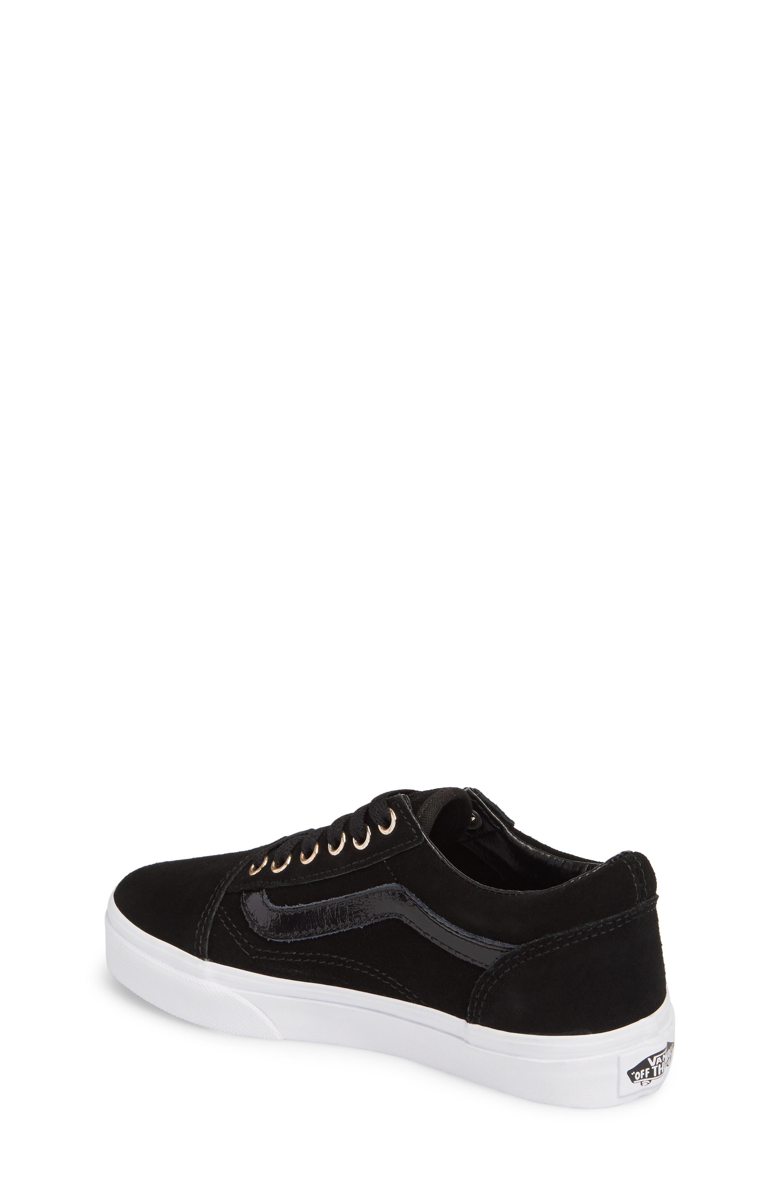 Old Skool Sneaker,                             Alternate thumbnail 2, color,                             Black/ Gold