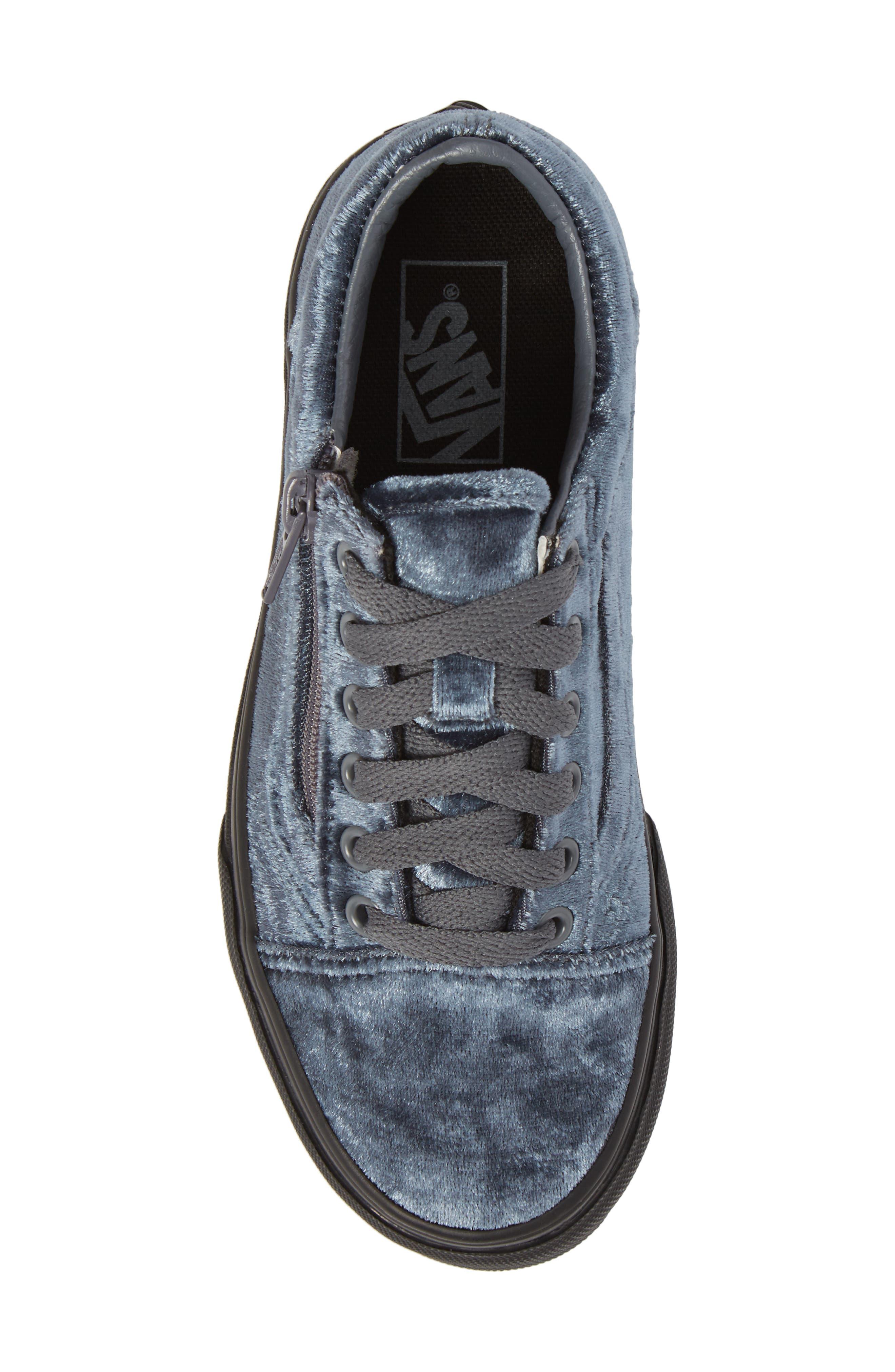 Alternate Image 5  - Vans Old Skool Zip Sneaker (Baby, Walker, Toddler, Little Kid & Big Kid)