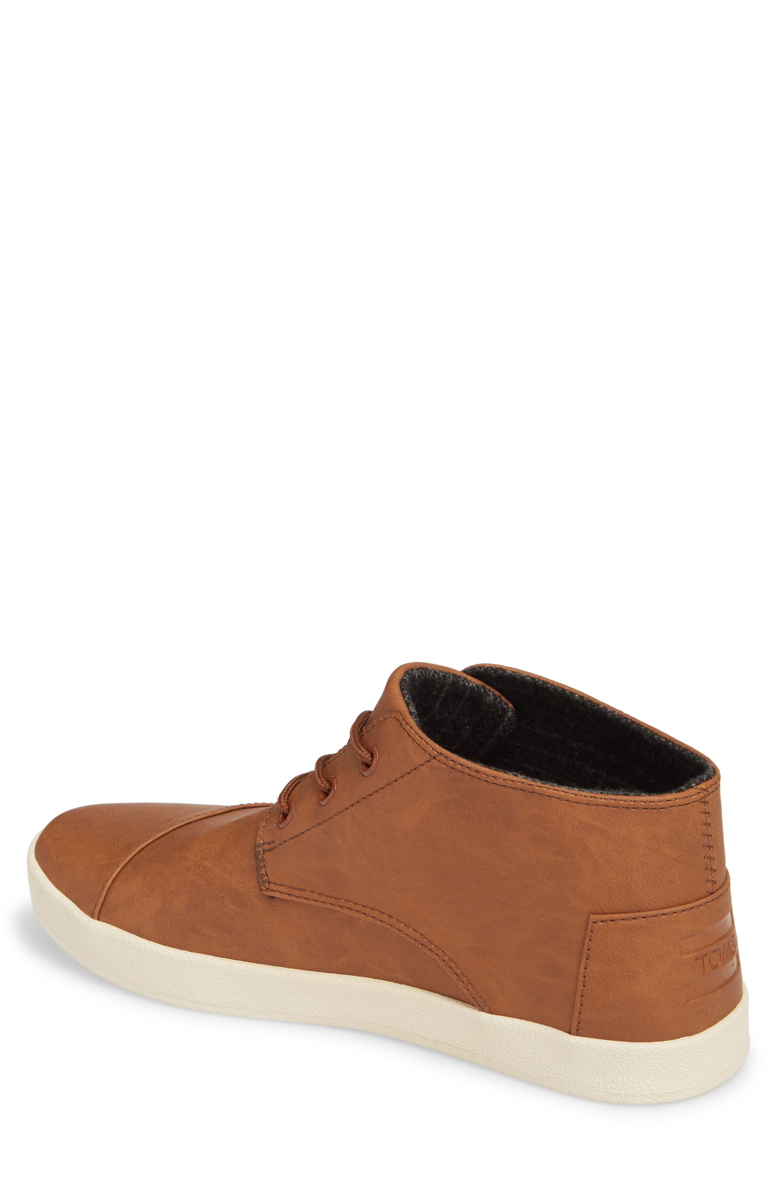 Paseo Mid Sneaker,                             Alternate thumbnail 2, color,                             Dark Earth Brown