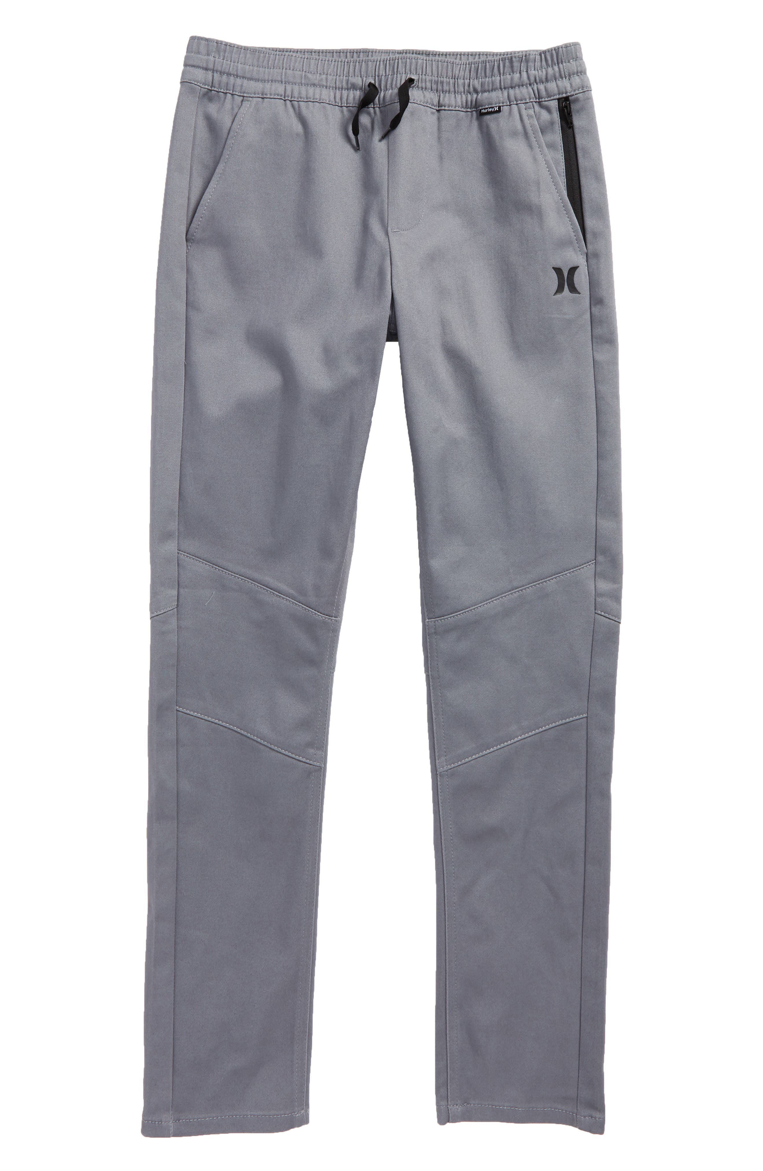 Alternate Image 1 Selected - Hurley Dri-FIT Tapered Track Pants (Big Boys)