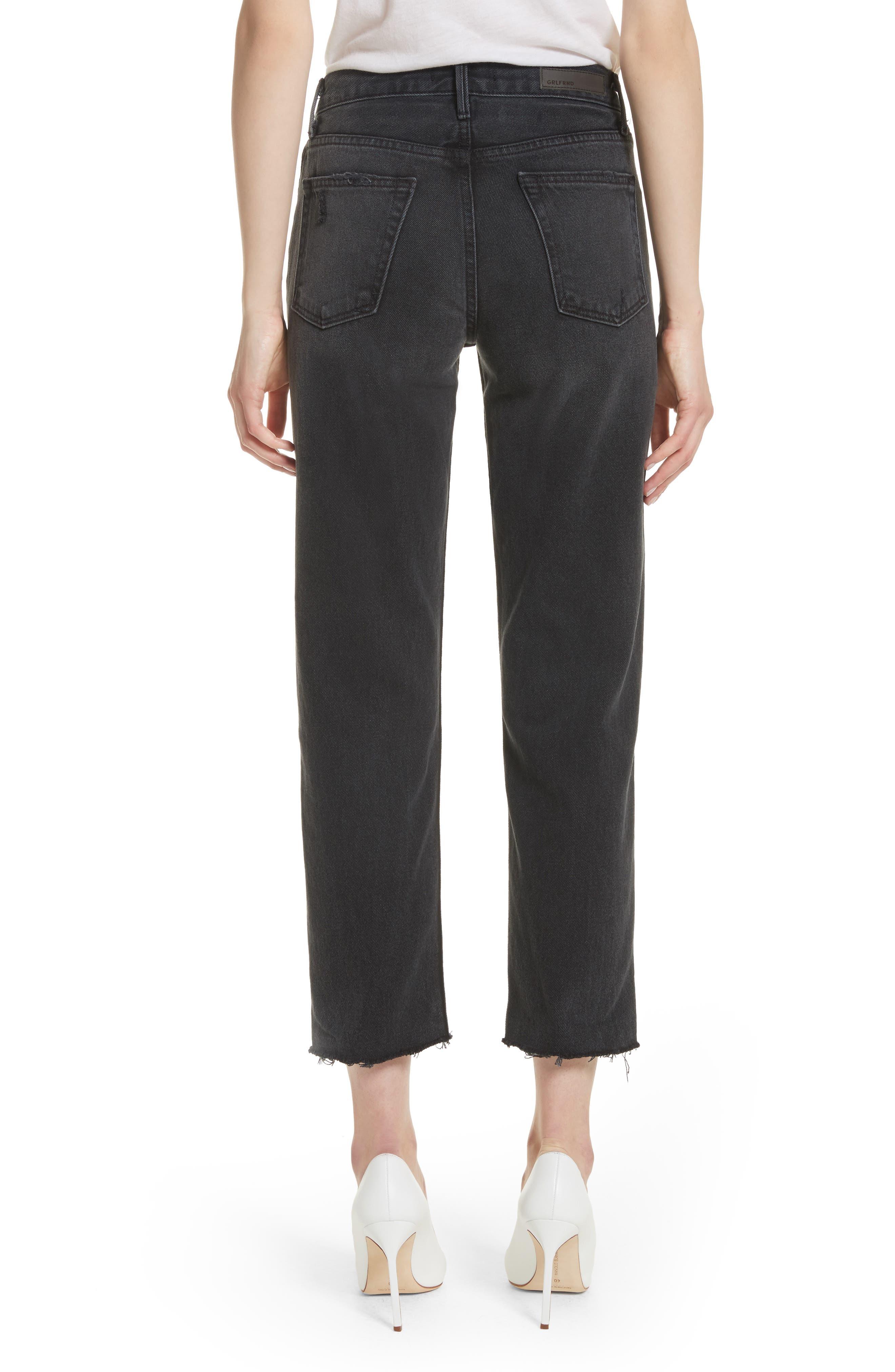 Alternate Image 2  - GRLFRND Helena Rigid High Waist Straight Jeans (Proud Mary)