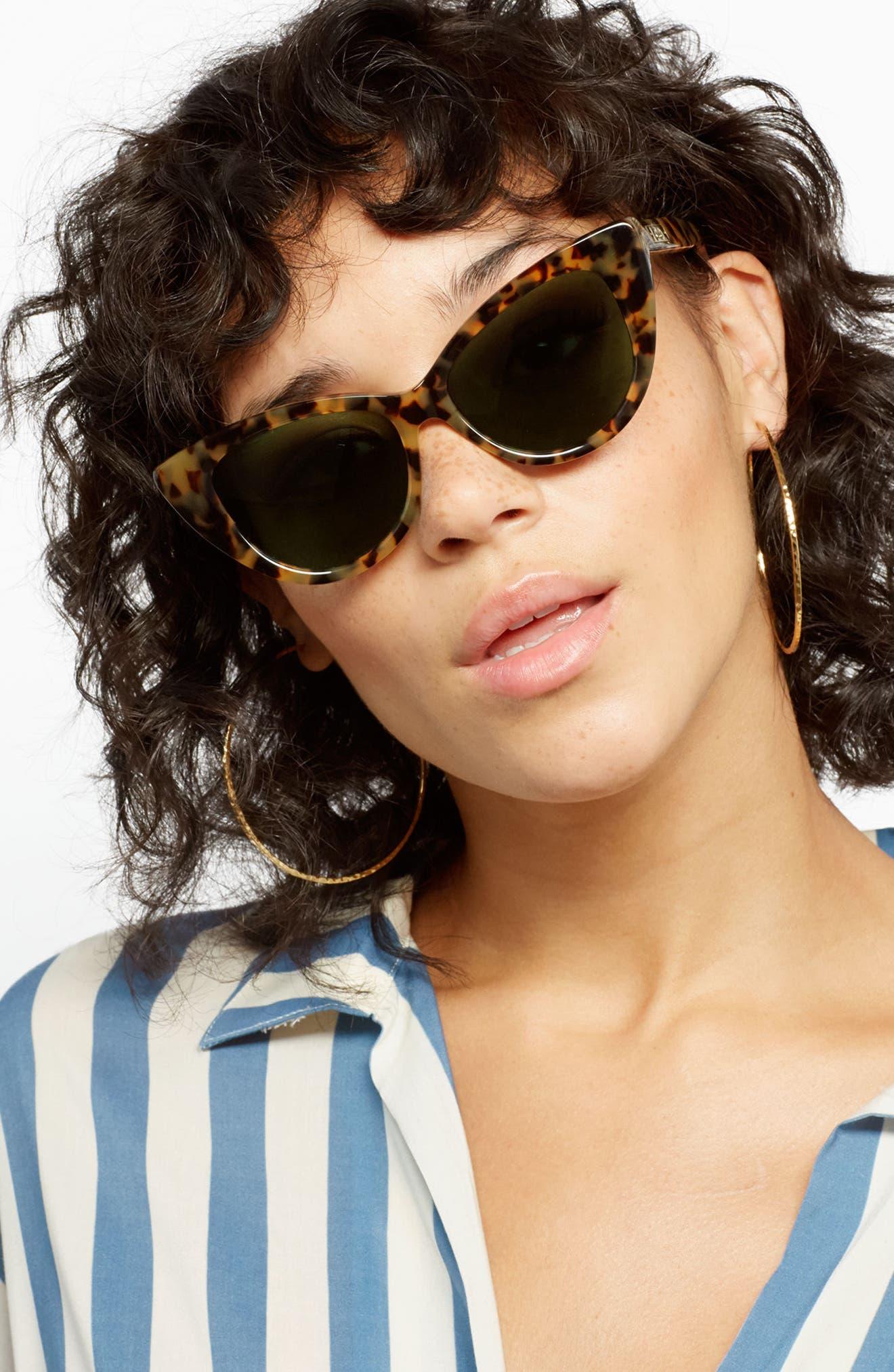 Alternate Image 2  - Sonix Kyoto 51mm Cat Eye Sunglasses