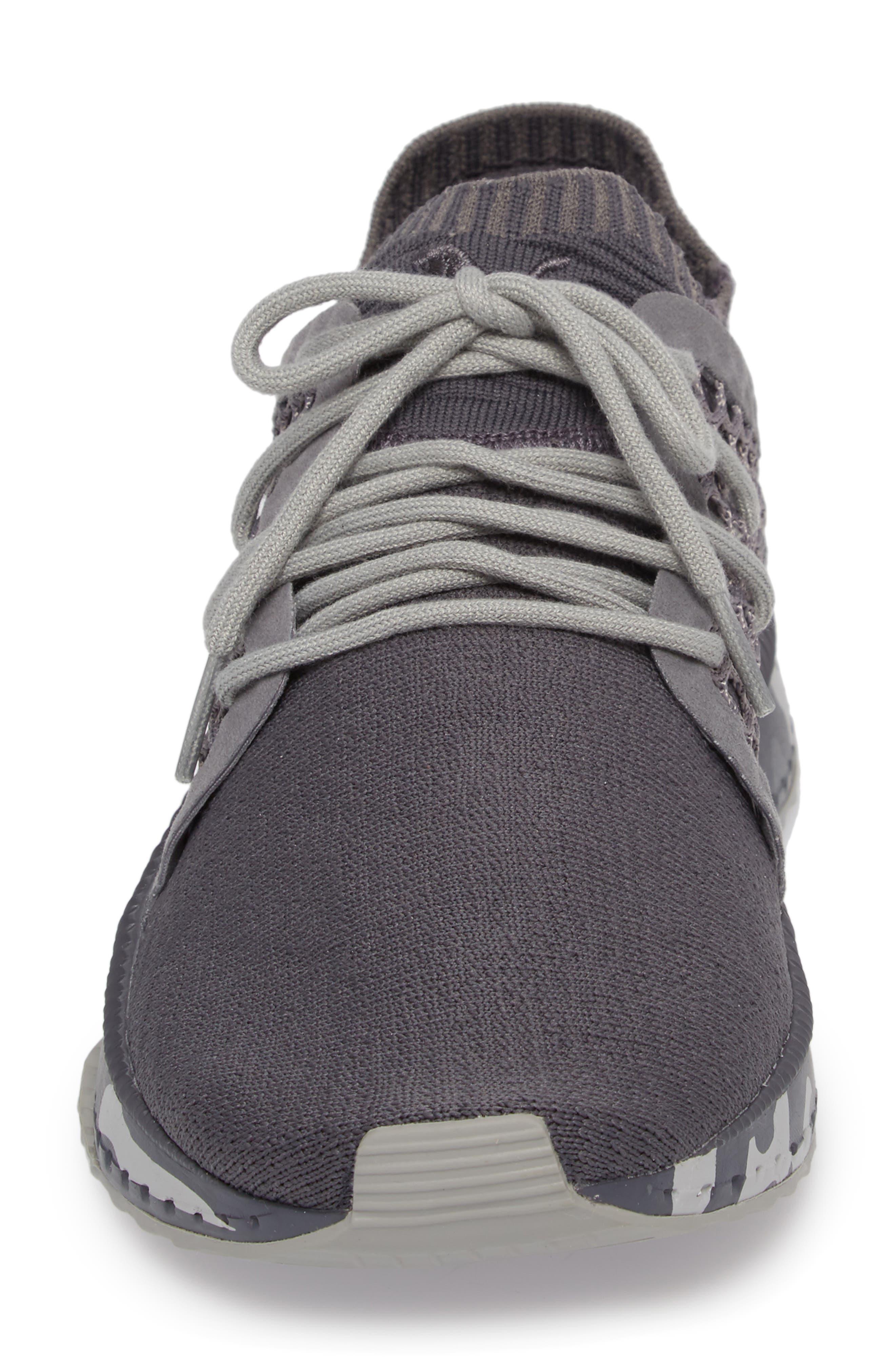 Tsugi Netfit evoKNIT Training Shoe,                             Alternate thumbnail 4, color,                             Quiet Shade-Asphalt