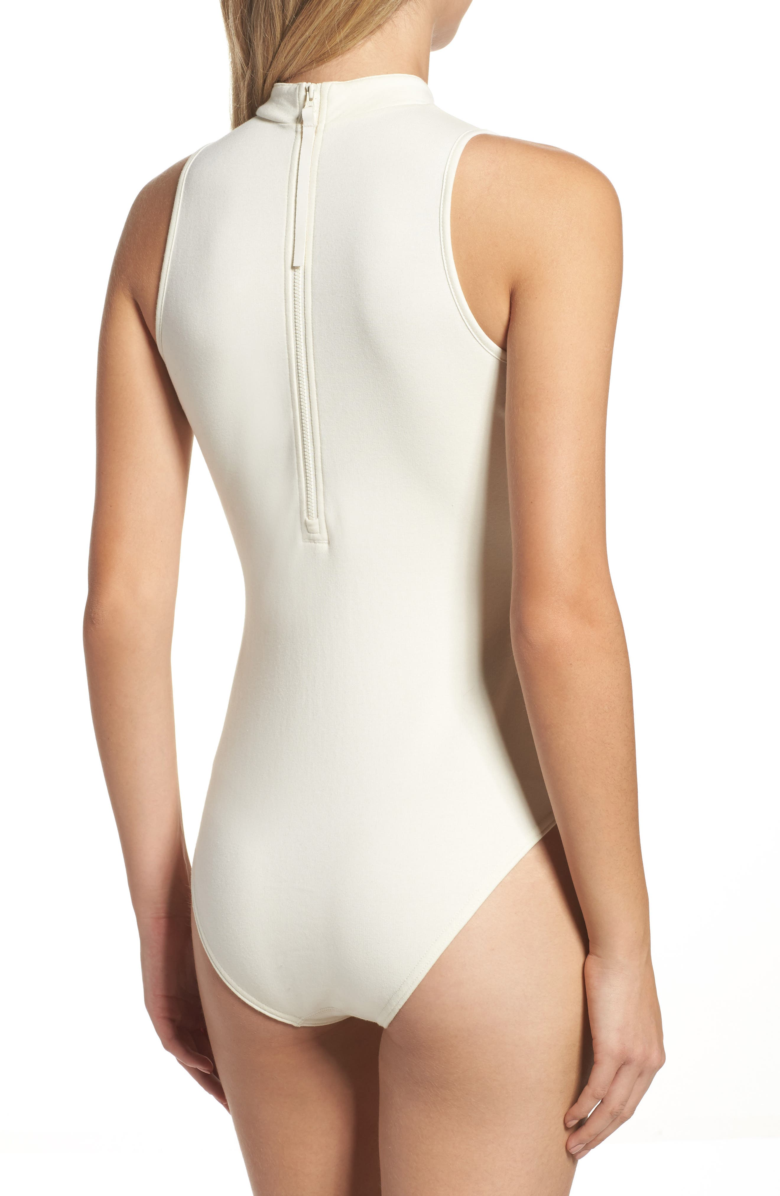 Dynamic Classic Bodysuit,                             Alternate thumbnail 2, color,                             Classic White