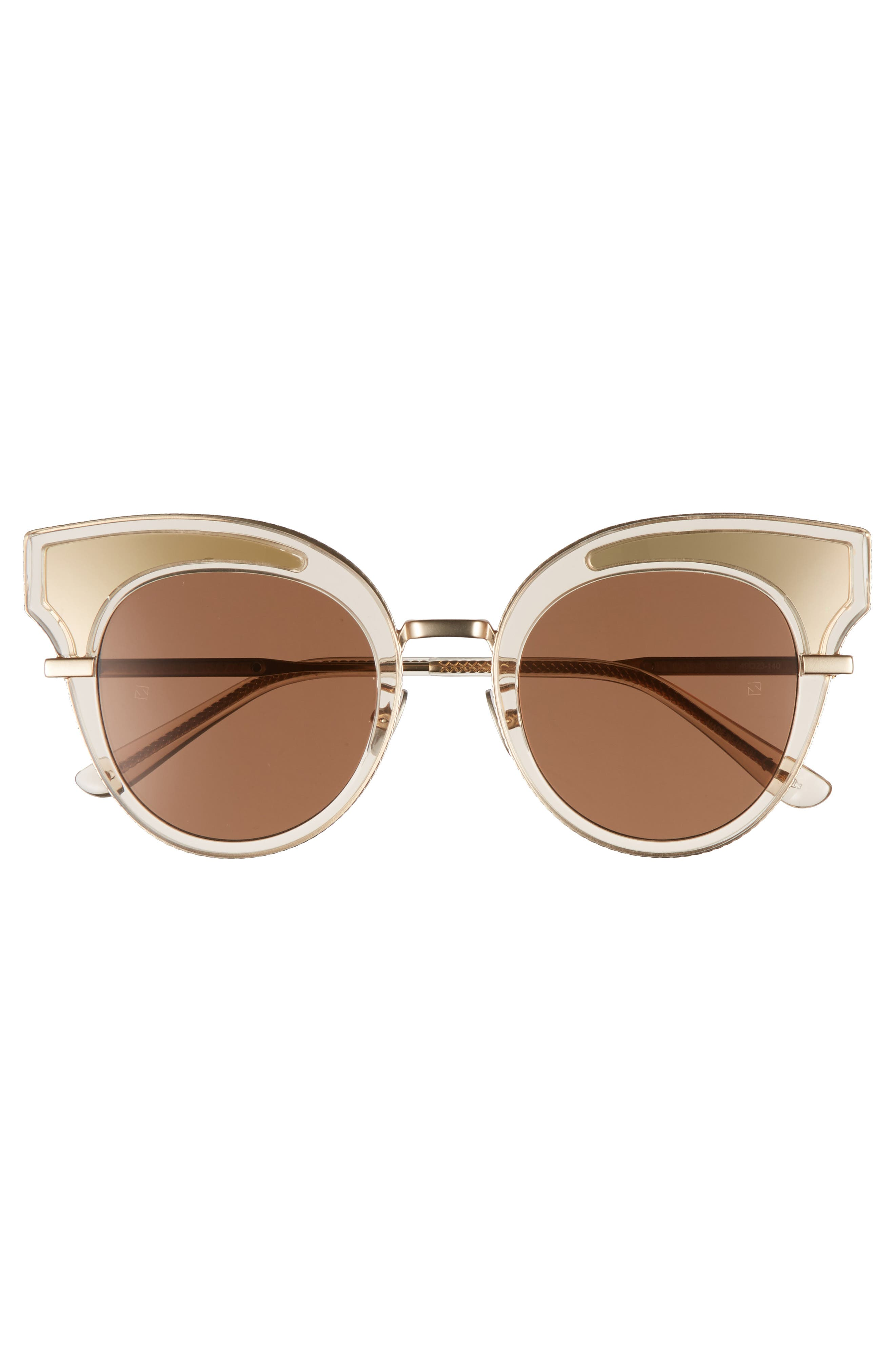 Alternate Image 3  - Bottega Veneta 49mm Cat Eye Sunglasses