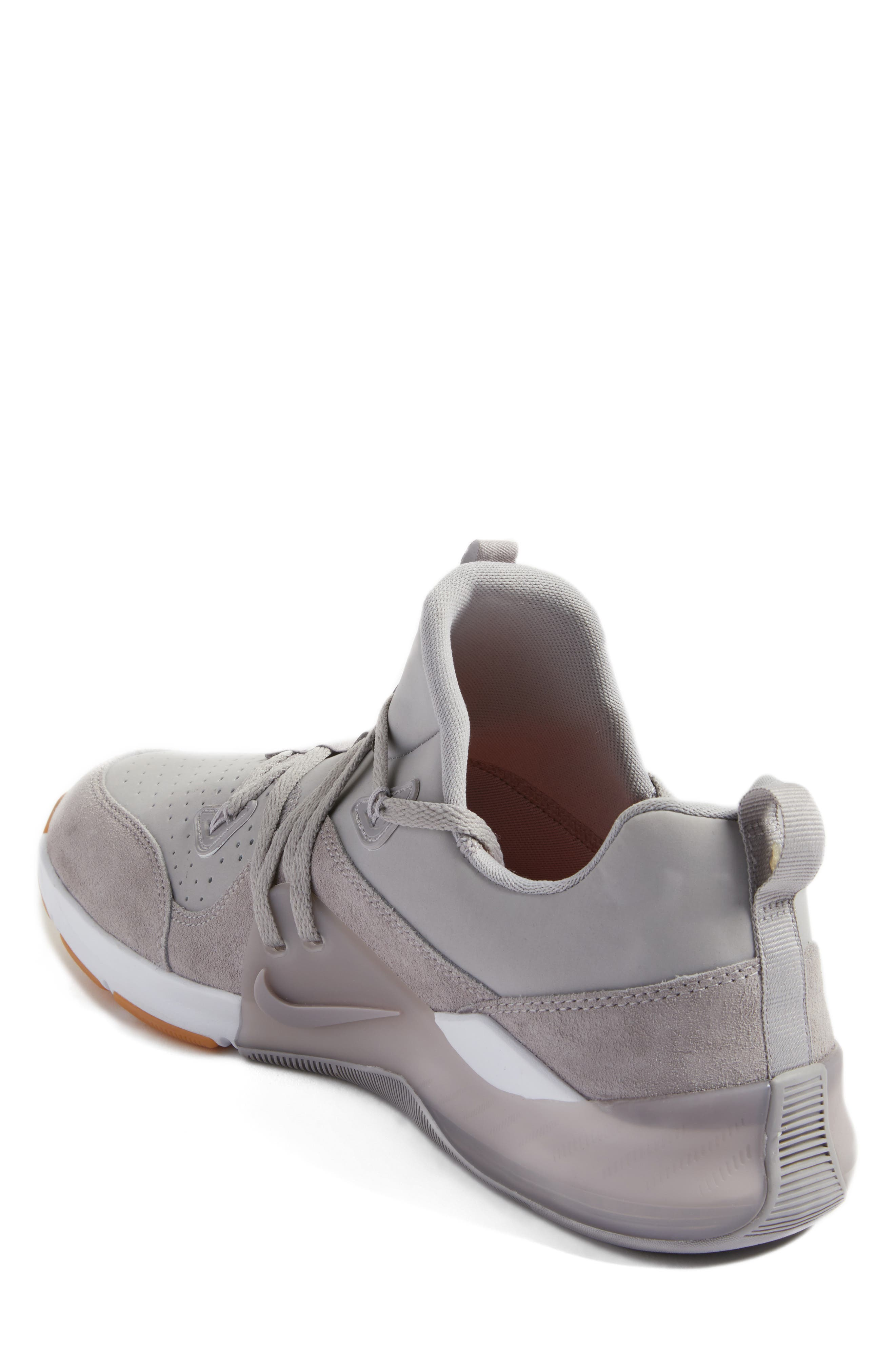 Zoom Train Command Training Shoe,                             Alternate thumbnail 2, color,                             Atmosphere Grey/ White/ Brown
