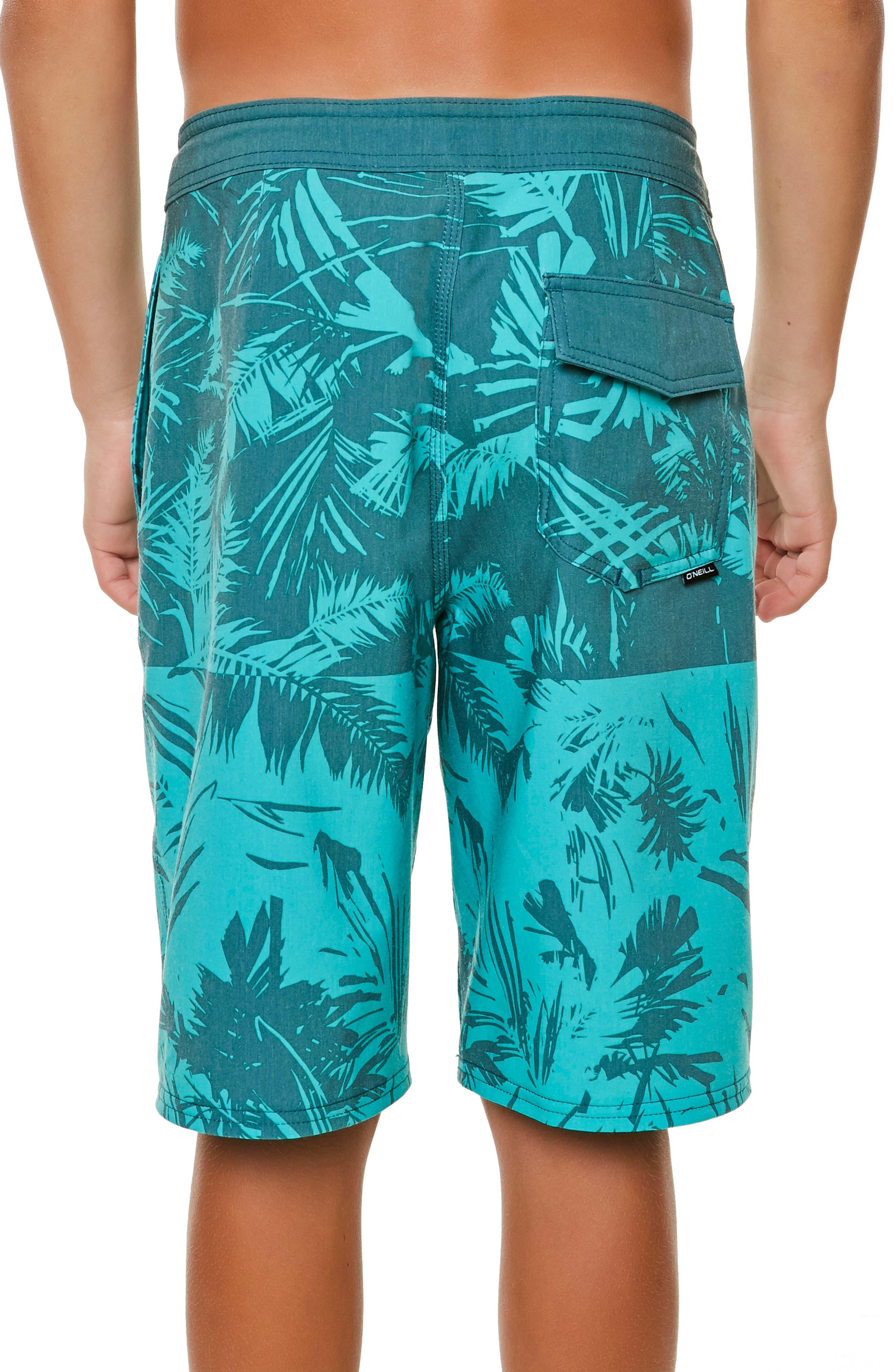 Inverted Cruzer Board Shorts,                             Alternate thumbnail 2, color,                             Aqua