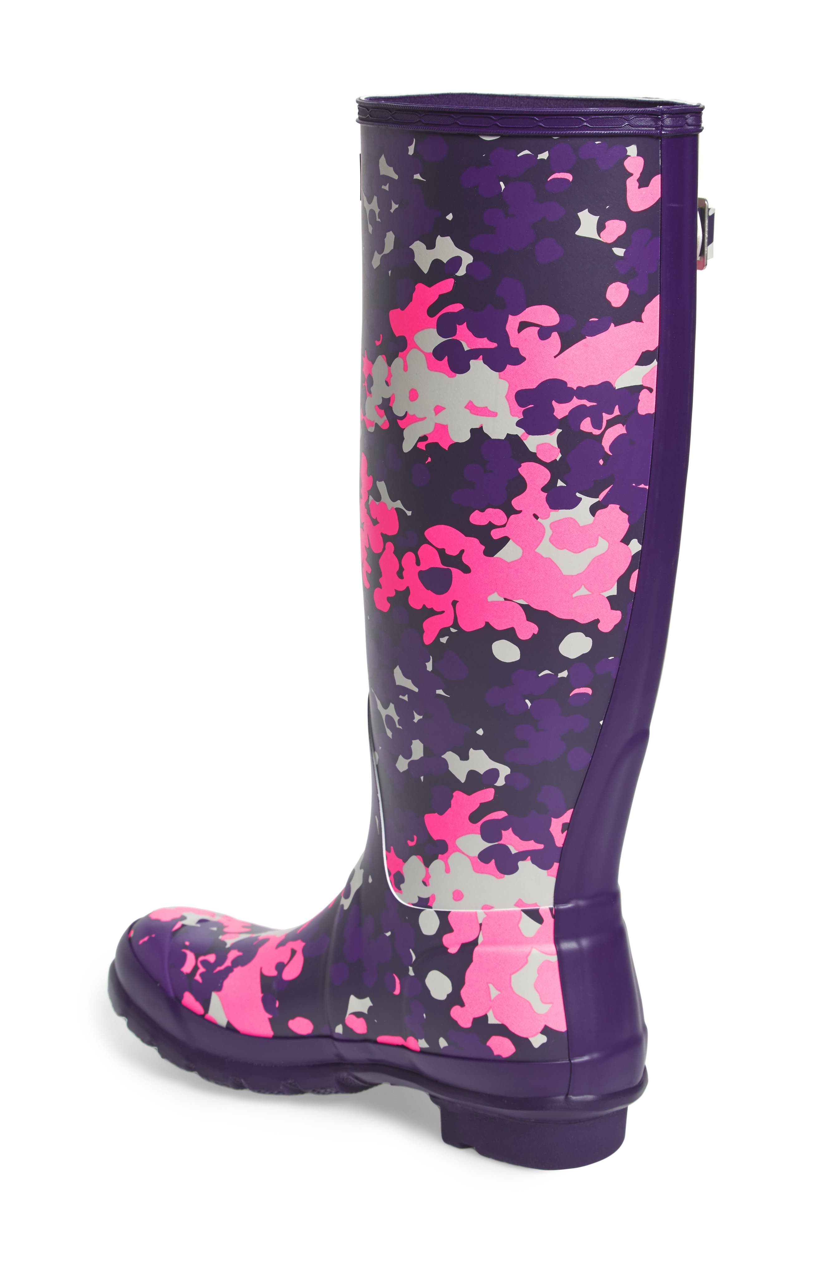 Alternate Image 2  - Hunter Original Tall - Flectarn Rain Boot (Women)