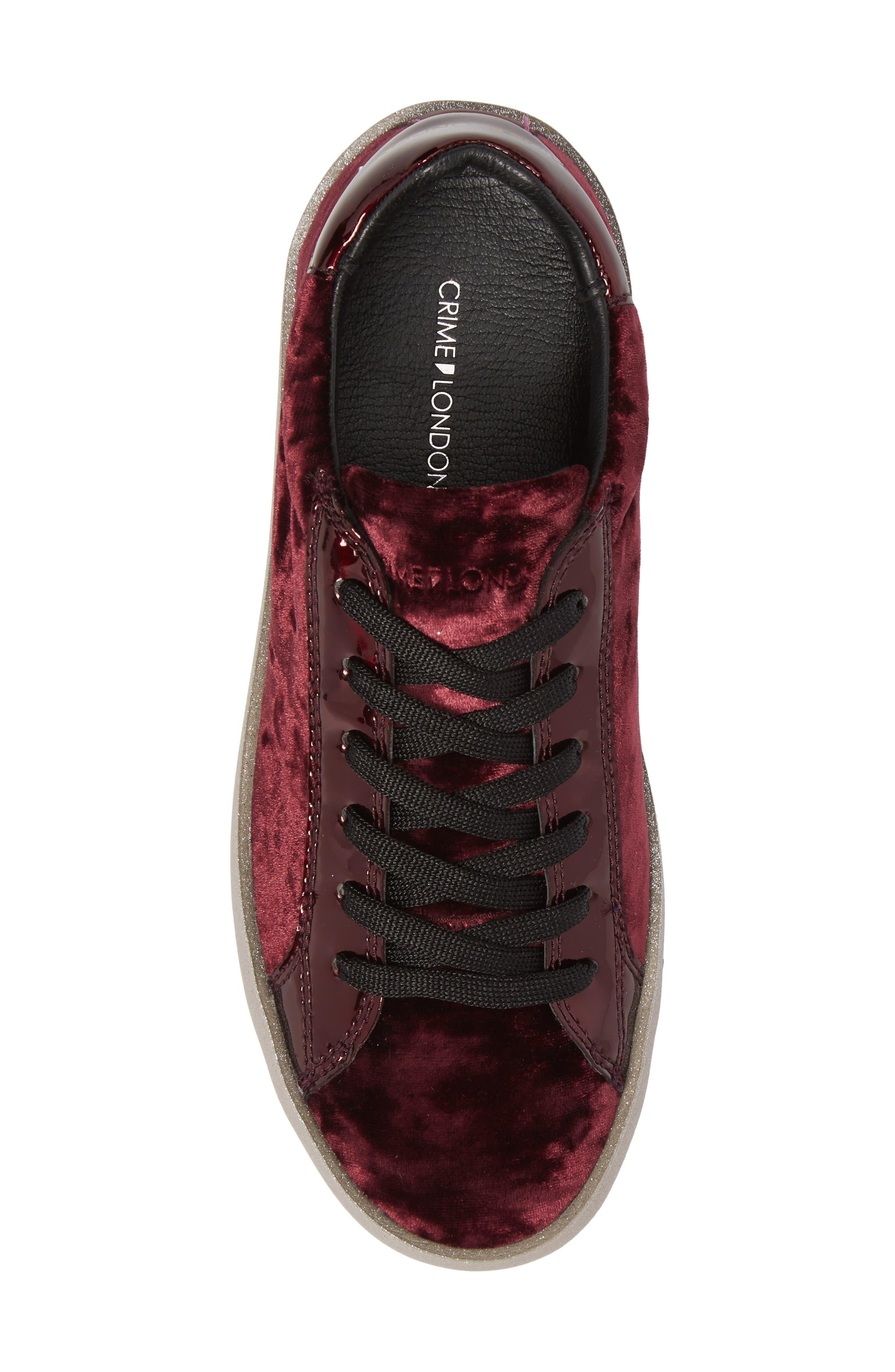 Dynamite Sneaker,                             Alternate thumbnail 5, color,                             Burgundy