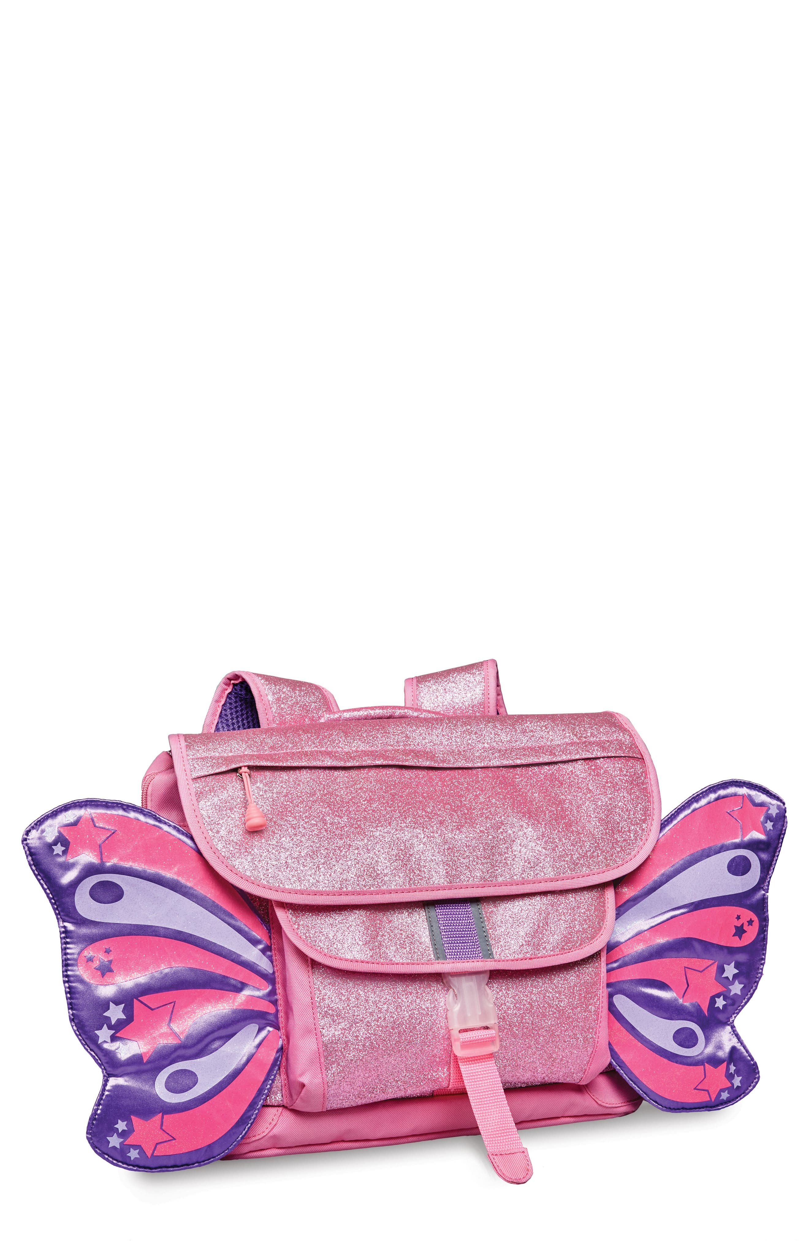 Sparkalicious Butterflyer Backpack,                             Main thumbnail 1, color,                             Pink