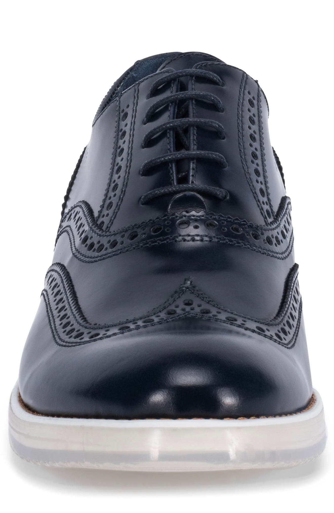 Alternate Image 4  - Bugatchi 'Palermo' Wingtip (Men)
