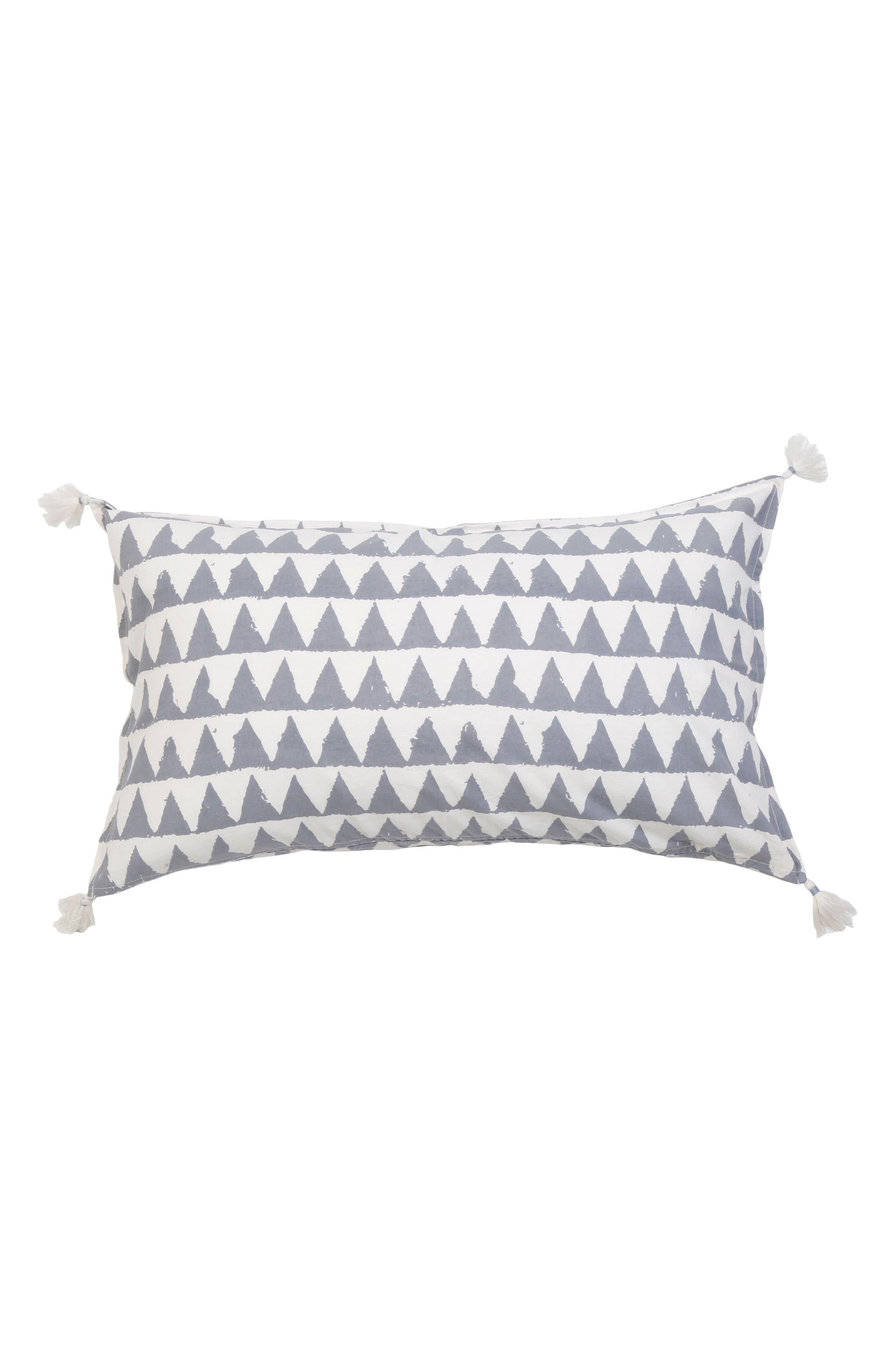 Summit Accent Pillow,                             Main thumbnail 1, color,                             Blue Multi