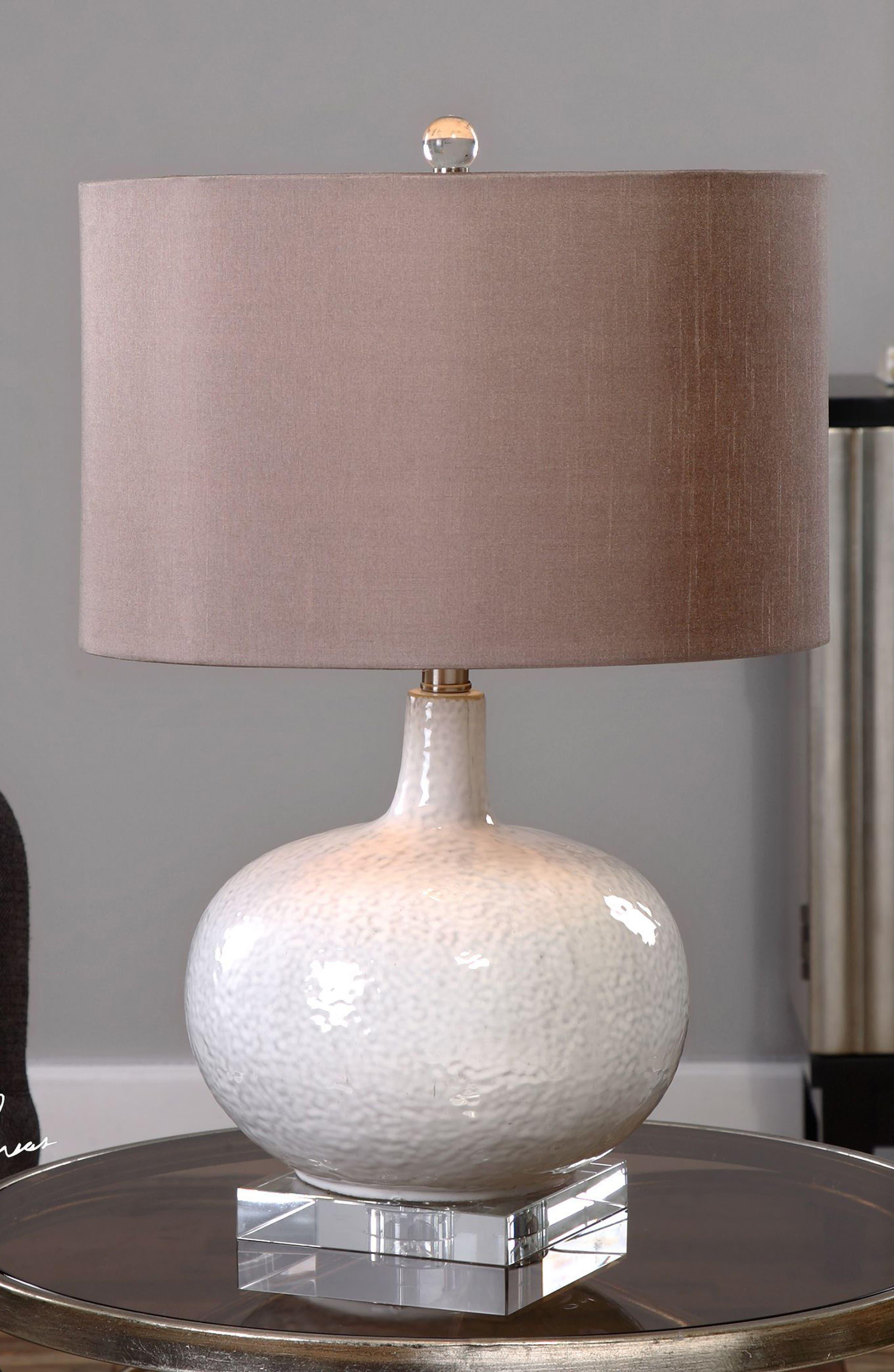 Parvati Table Lamp,                             Alternate thumbnail 2, color,                             White