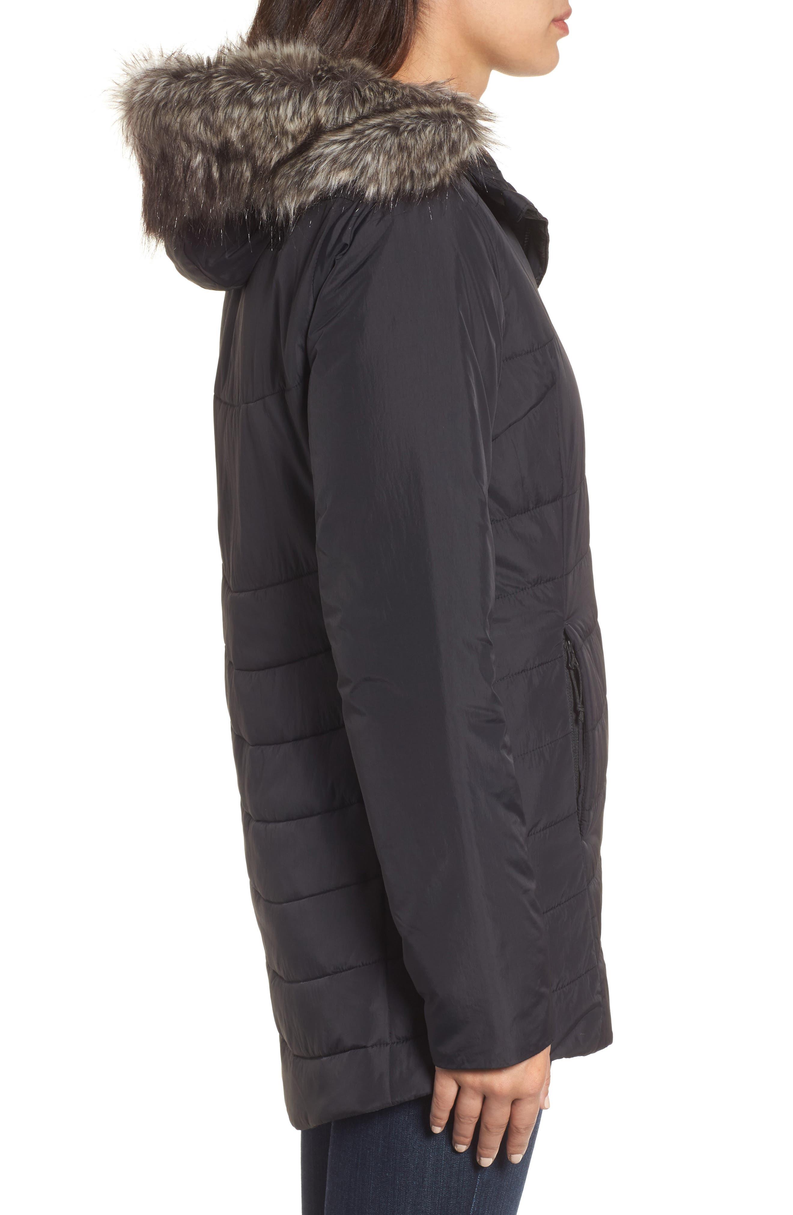Alternate Image 3  - The North Face Harway Heatseeker™ Water-Resistant Jacket with Faux Fur Trim