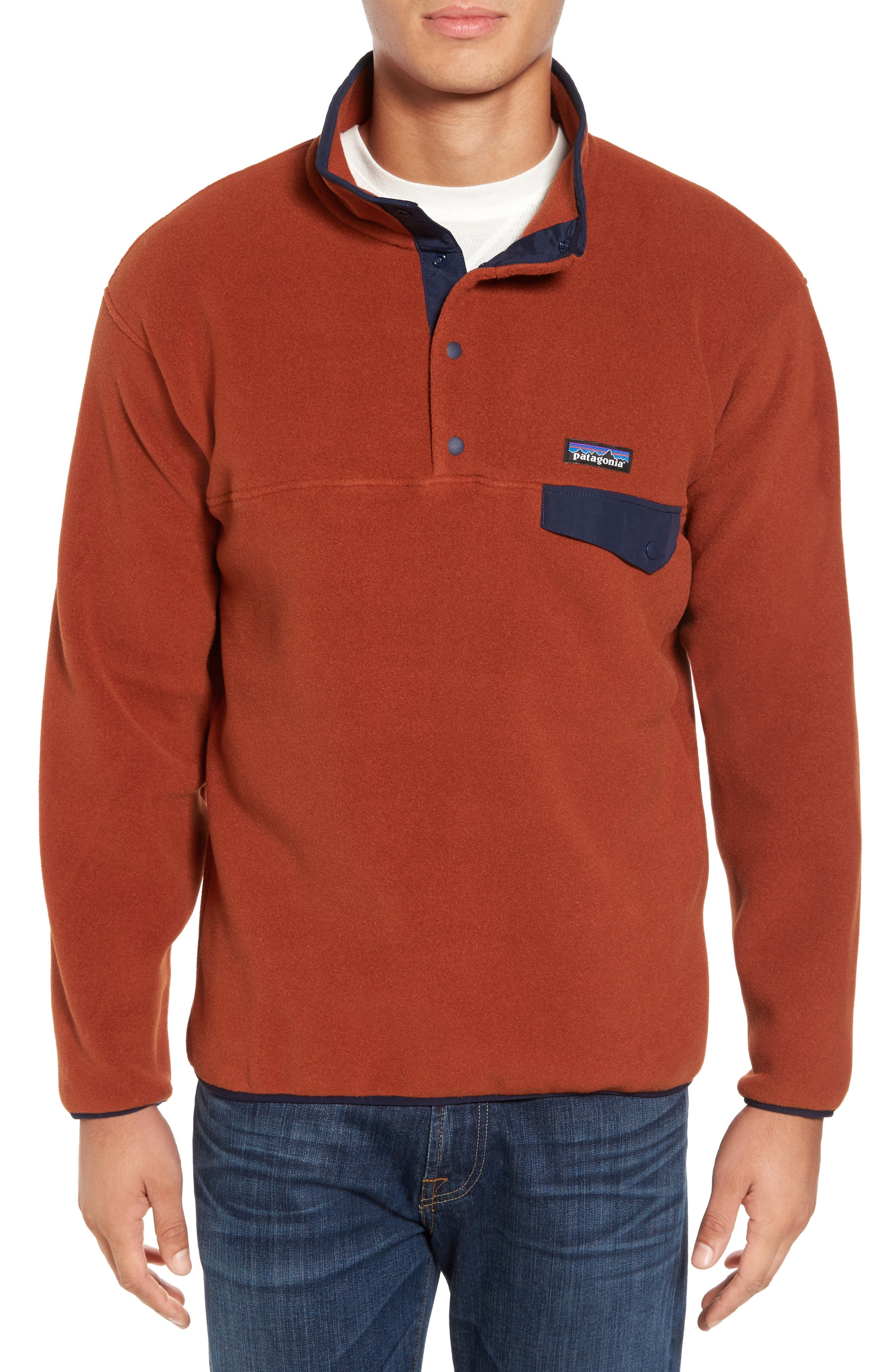 Alternate Image 1 Selected - Patagonia Synchilla® Snap-T® Pullover