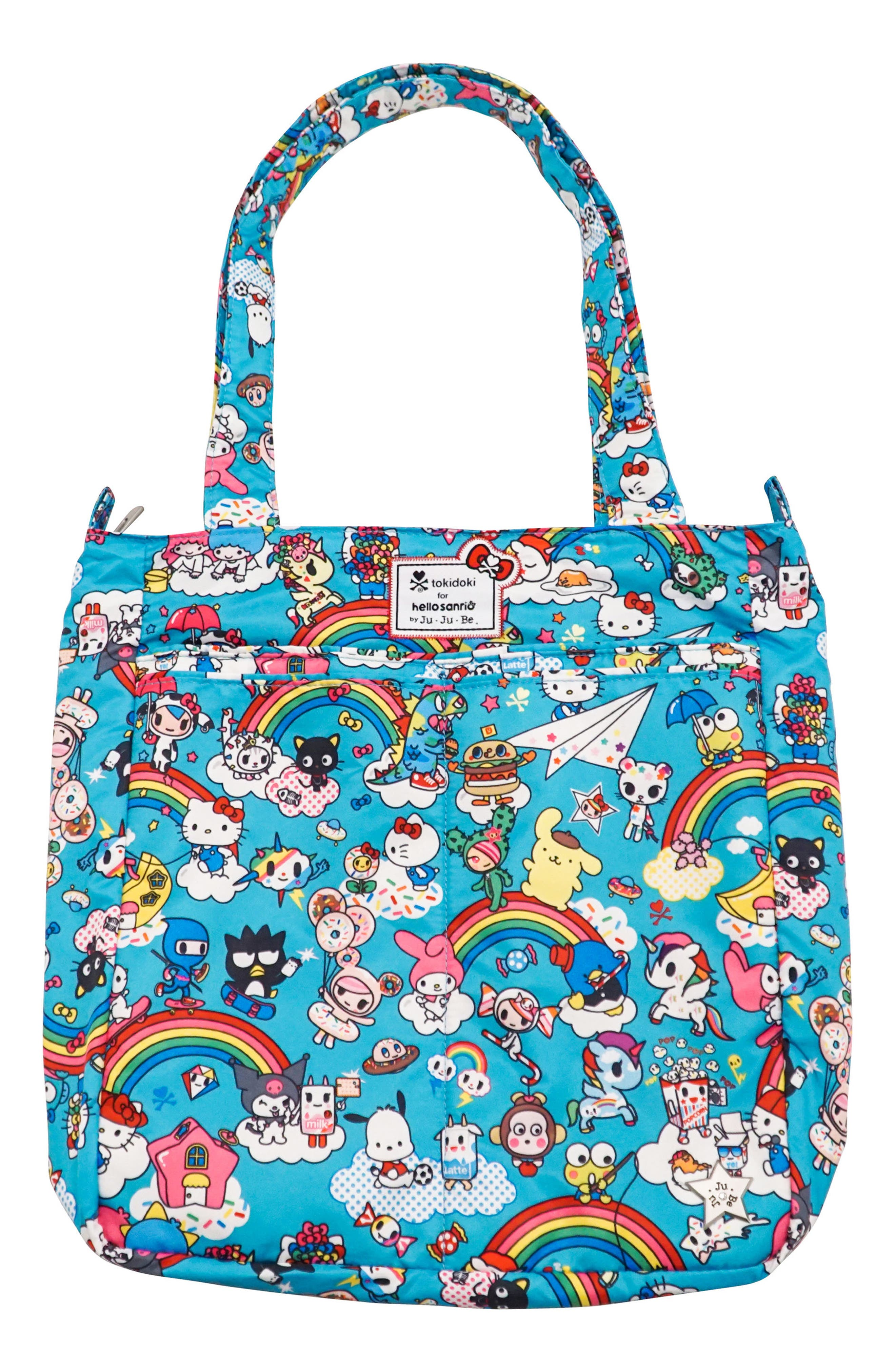 Alternate Image 1 Selected - Ju-Ju-Be x tokidoki for Hello Sanrio Rainbow Dreams Be Light Diaper Tote