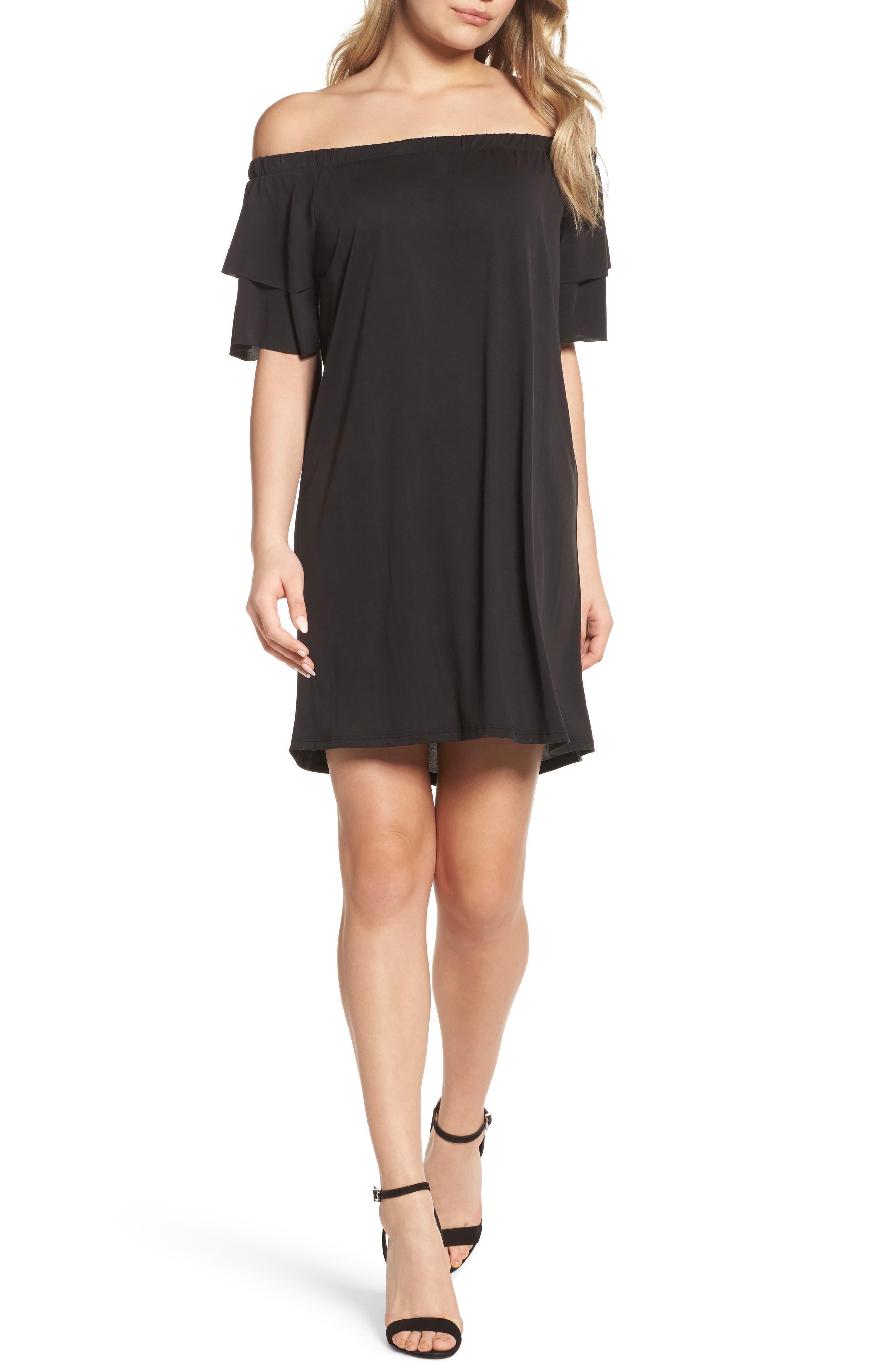 Alternate Image 1 Selected - NSR Off the Shoulder Dress