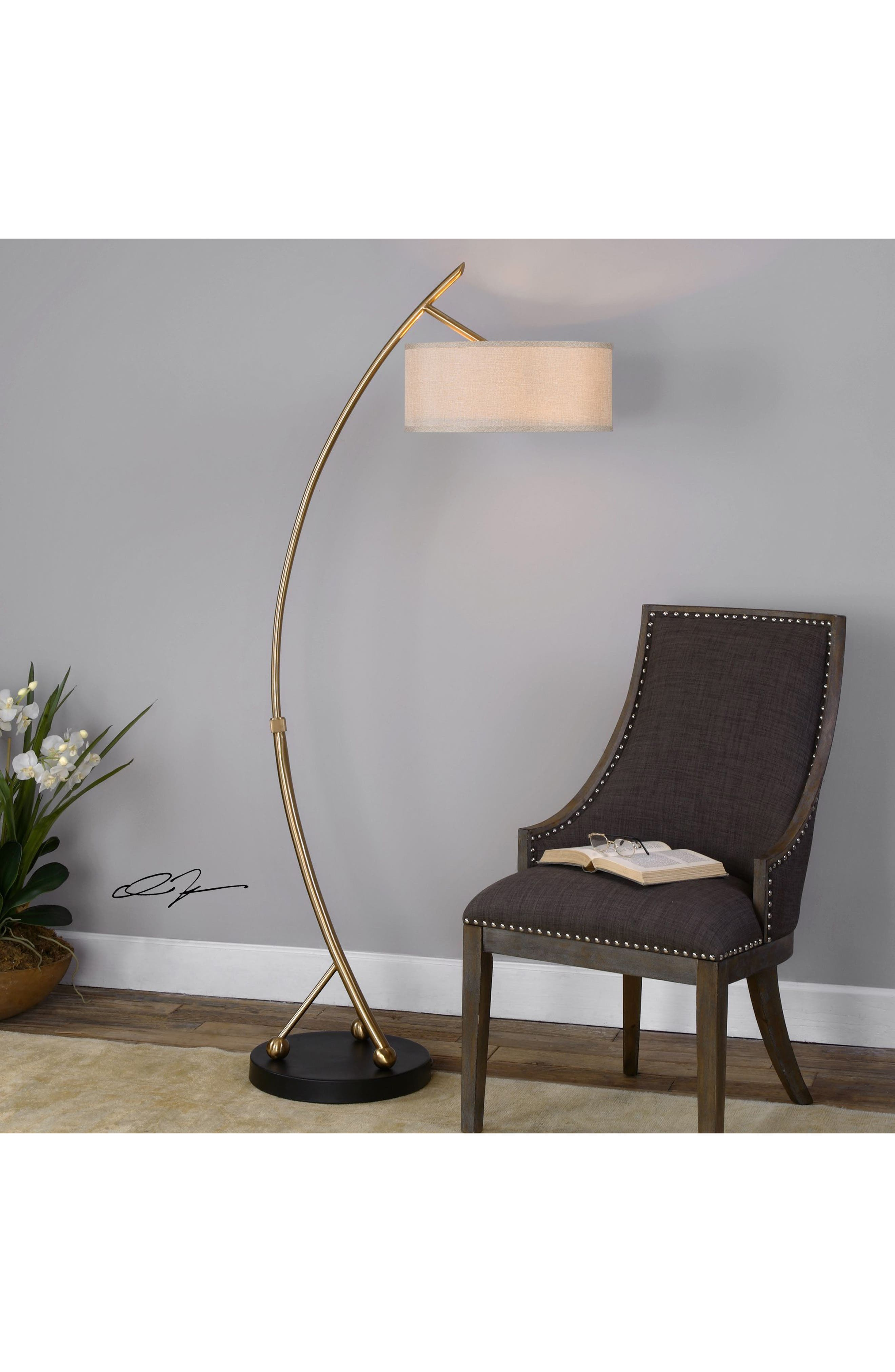 Alternate Image 2  - Uttermost Vardar Floor Lamp